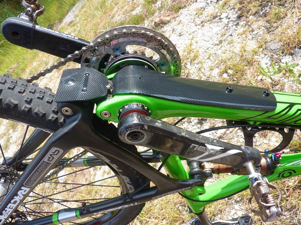Carbon Frame Wrap Options For Protection Against Rocks Etc