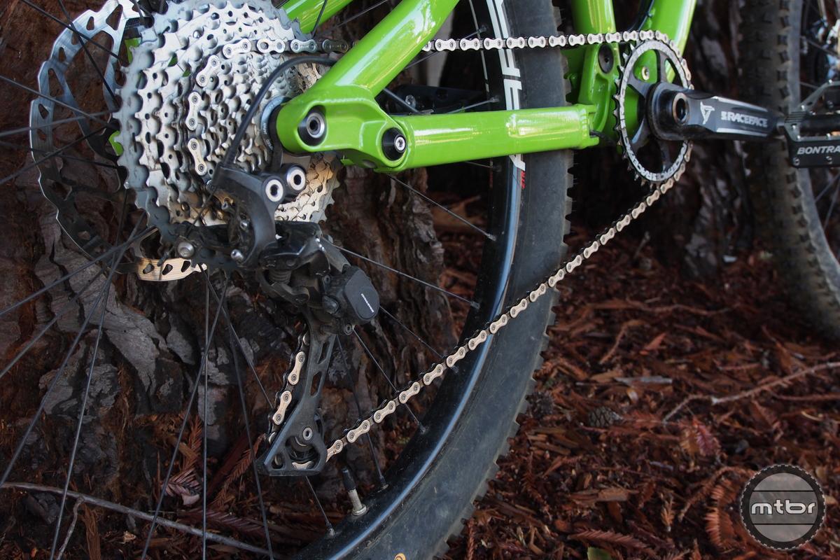 Staran Cycles FSM-140 Drivetrain