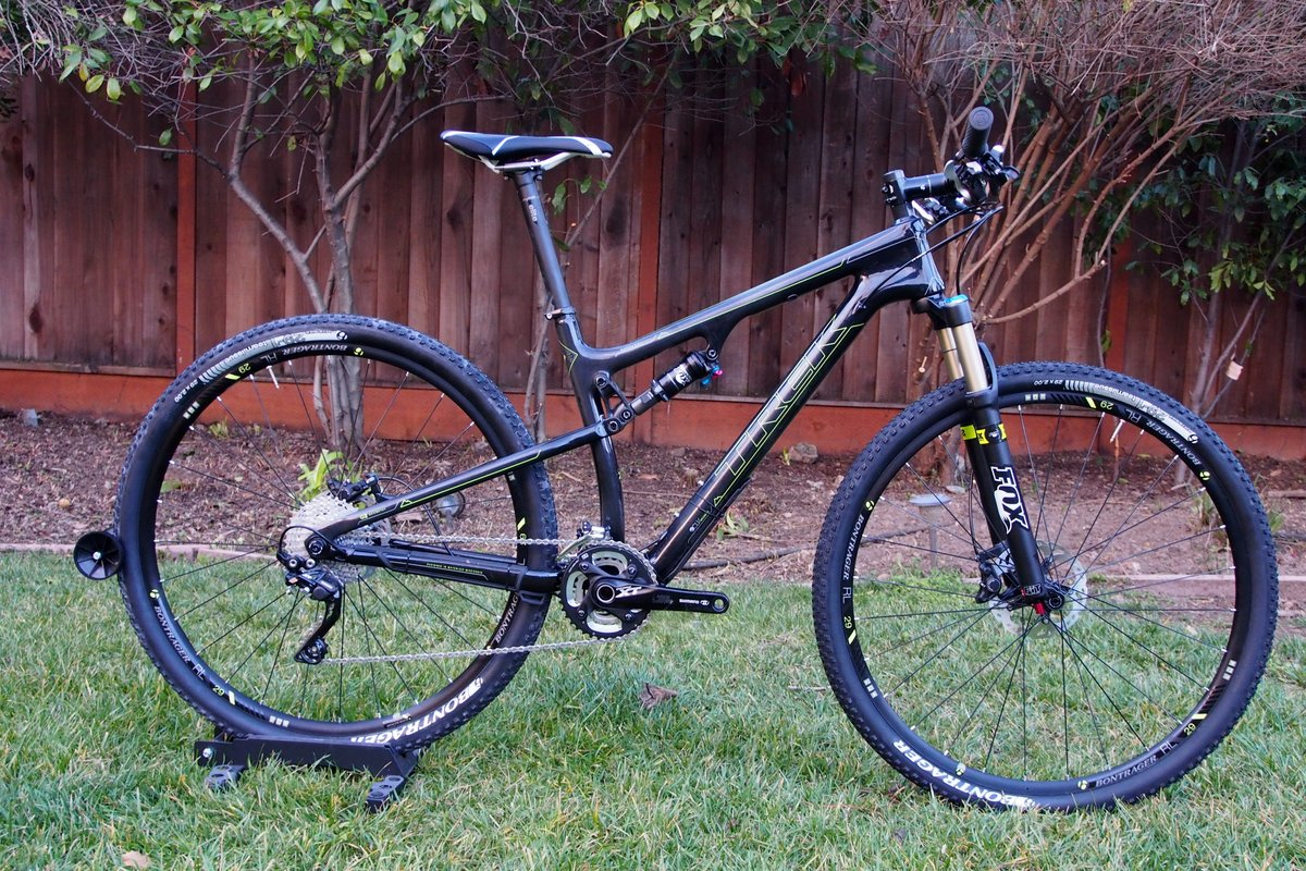 Trek Superfly 100 Side
