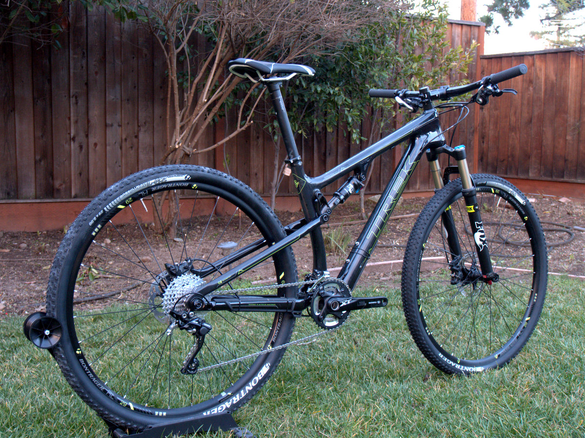 Trek Superfly 100 Rear Side