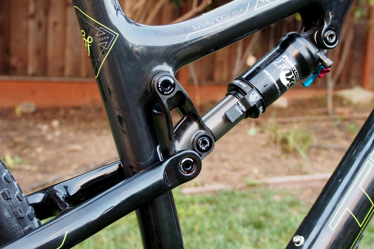 Trek Superfly 100 Rear Shock
