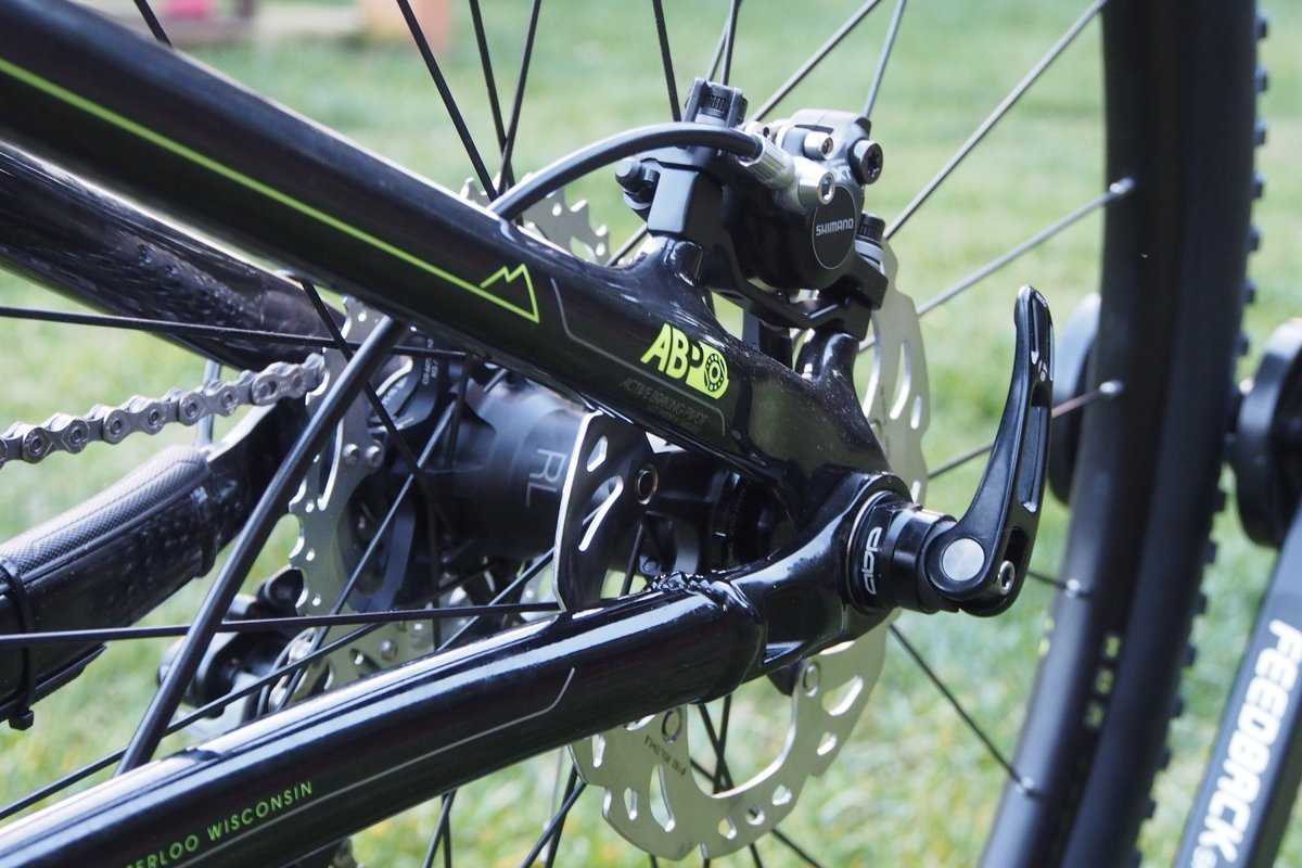 Trek Superfly 100 Rear Dropout