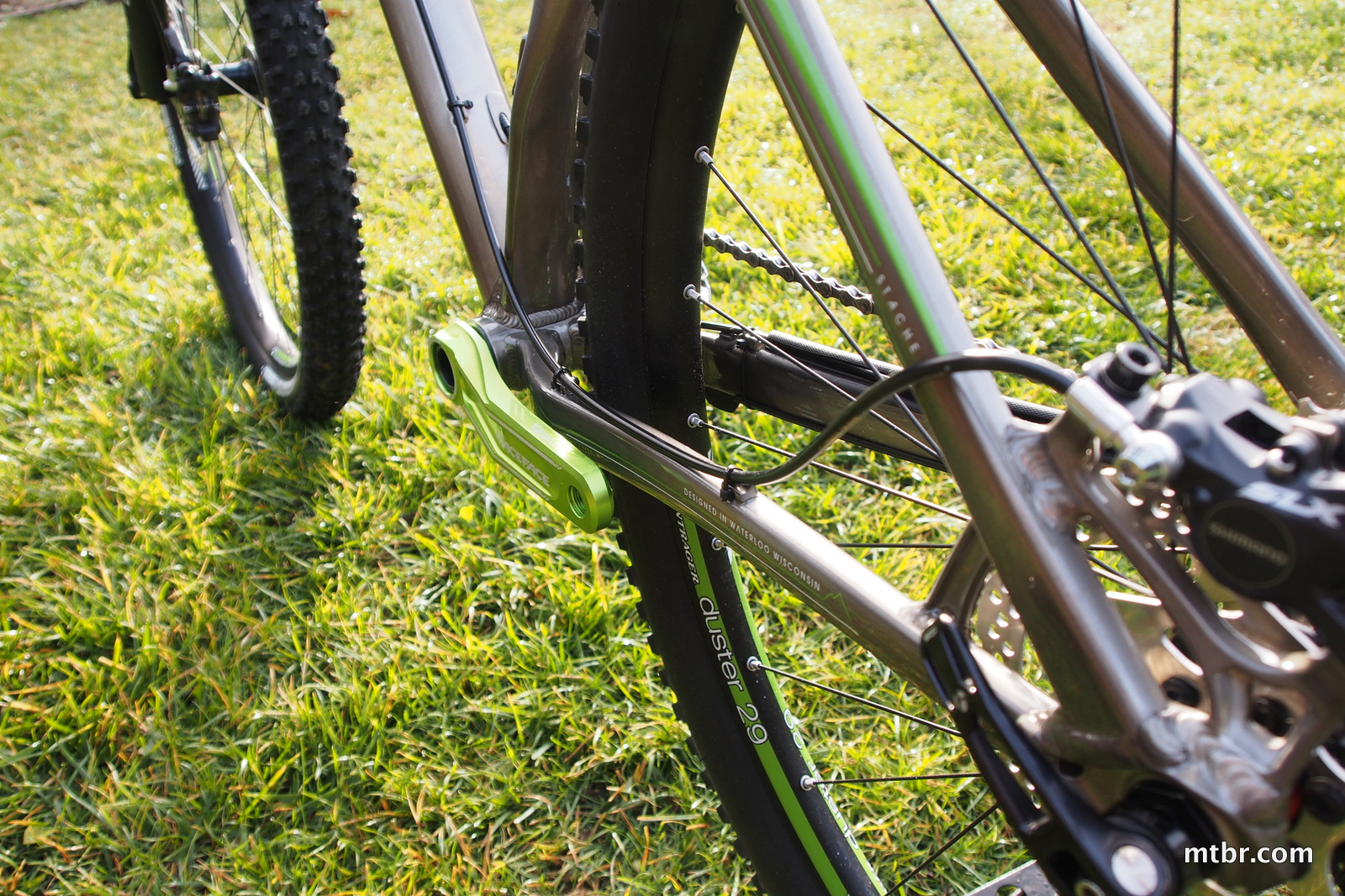 Trek Stache 8 Rear Triangle