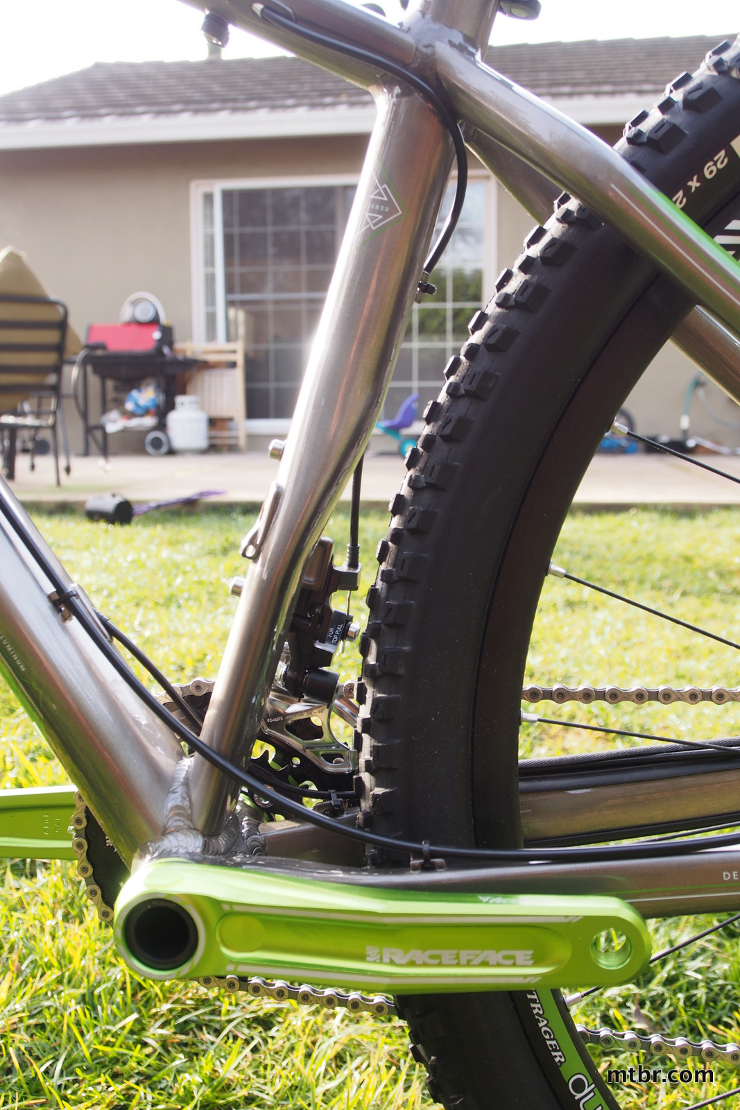 Trek Stache 8 Rear Tire Clearance