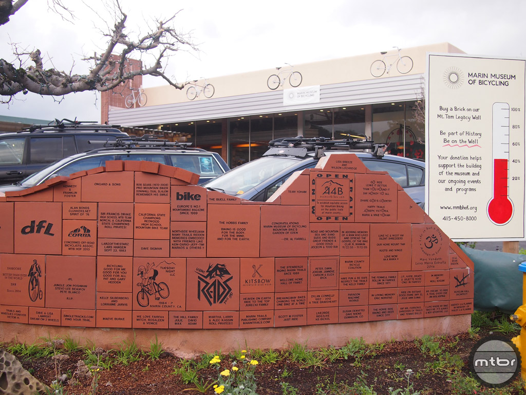 Help support the museum by buying a brick for the wall.