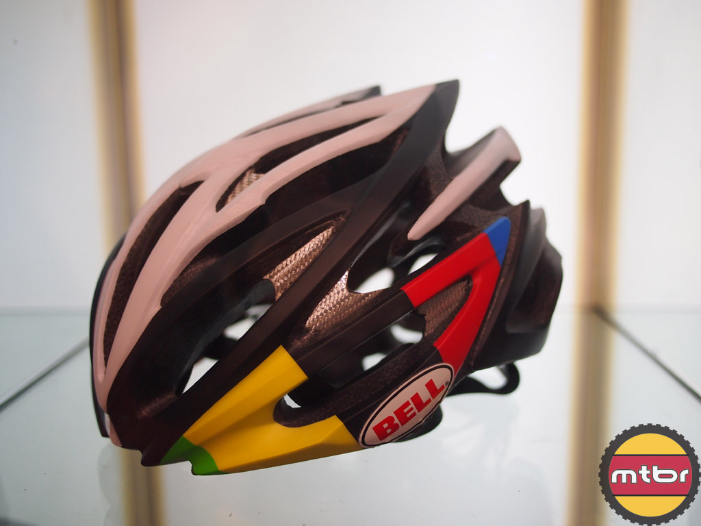 Bell Volt road helmet with World Champion colors