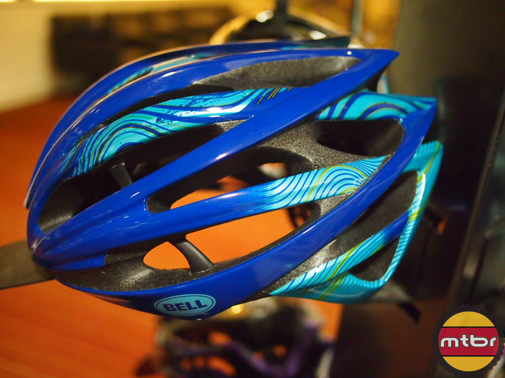 New Bell Gage road helmet