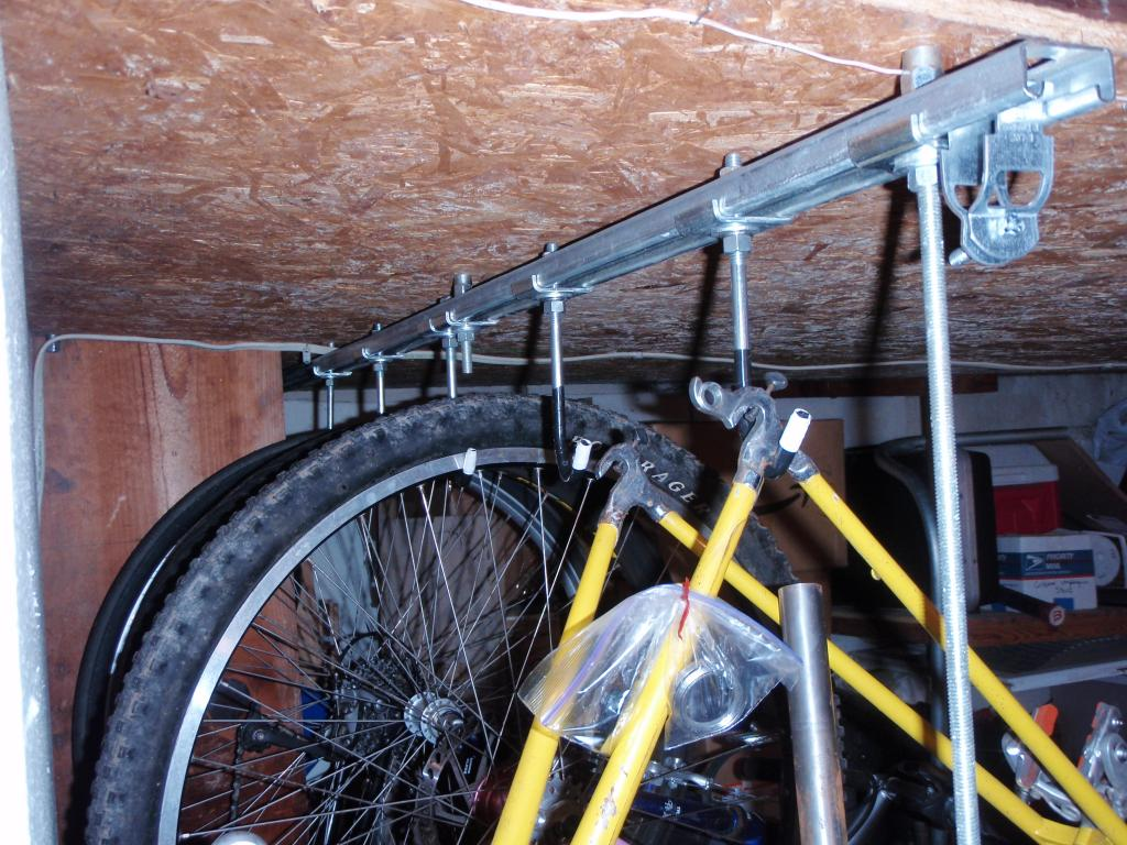Home Brewed Bike Storage Solutions Help Wanted Mtbr Com