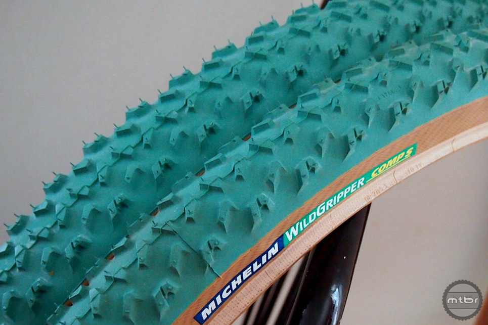 The green Michelin Wildgripper from a couple decades ago remains as one of the most iconic tires mountain biking has seen.