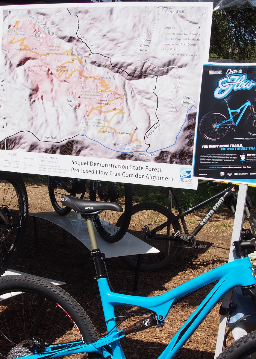 Santa Cruz Mountain Festival Tractor Trail Flow Project