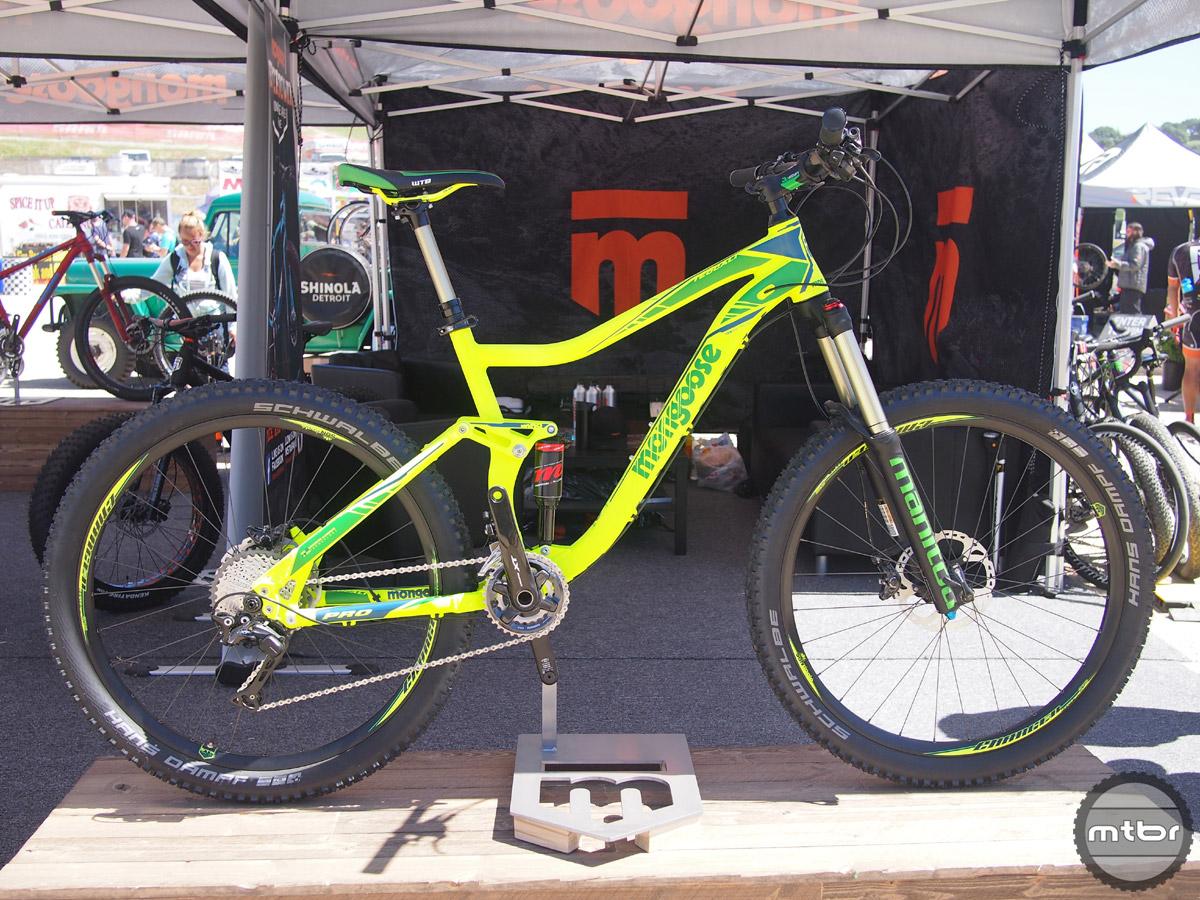 Mongoose's new bikes for 2017 - the Tyax Supa plus bike, Argus 24