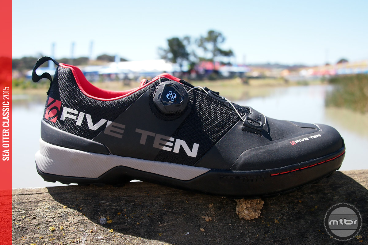 The Kestrel is Five Ten's first shoe to feature the popular BOA closure system.