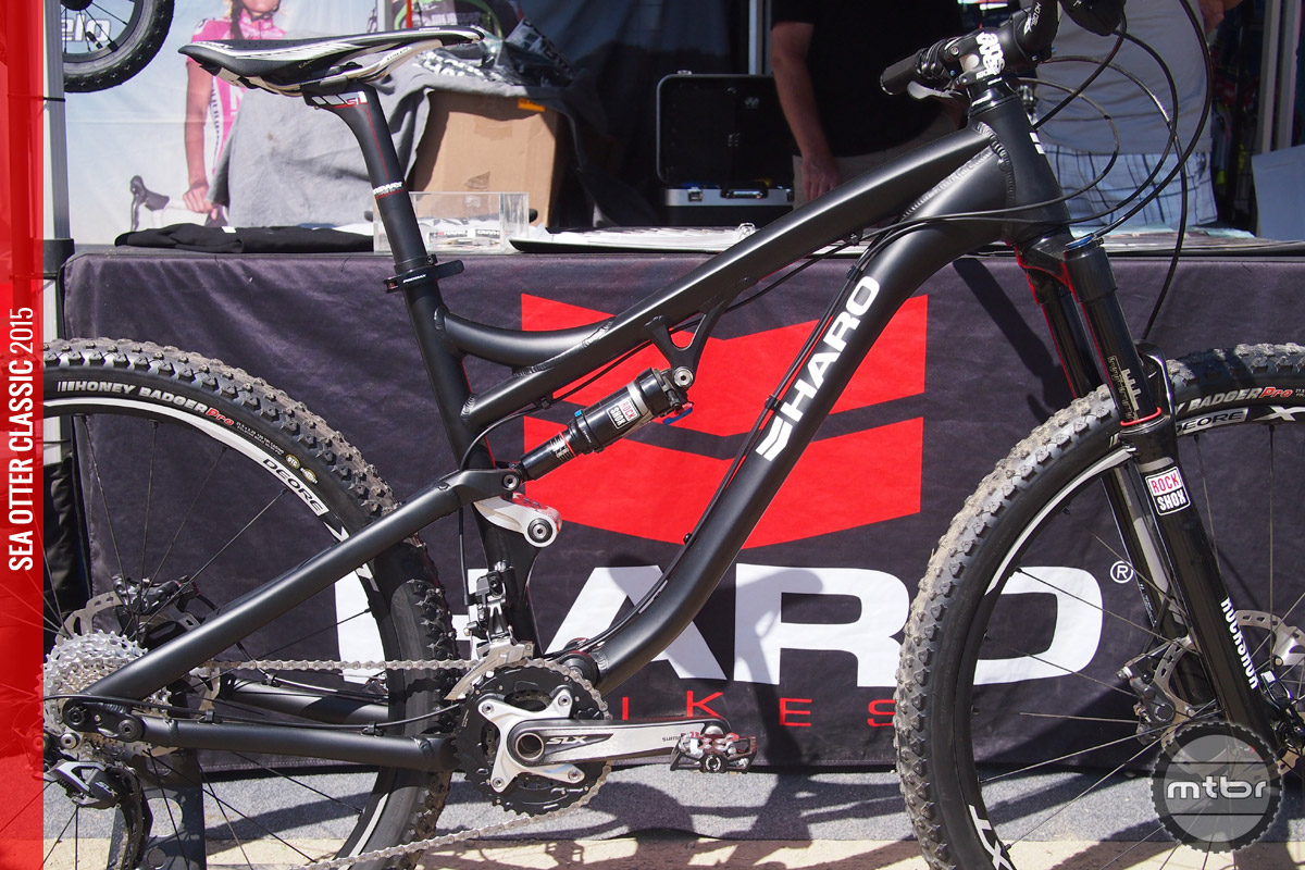 """The Shift R5 is an alloy framed, four-bar linkage bike with 125mm of travel rolling on 27.5"""" wheels and tires."""