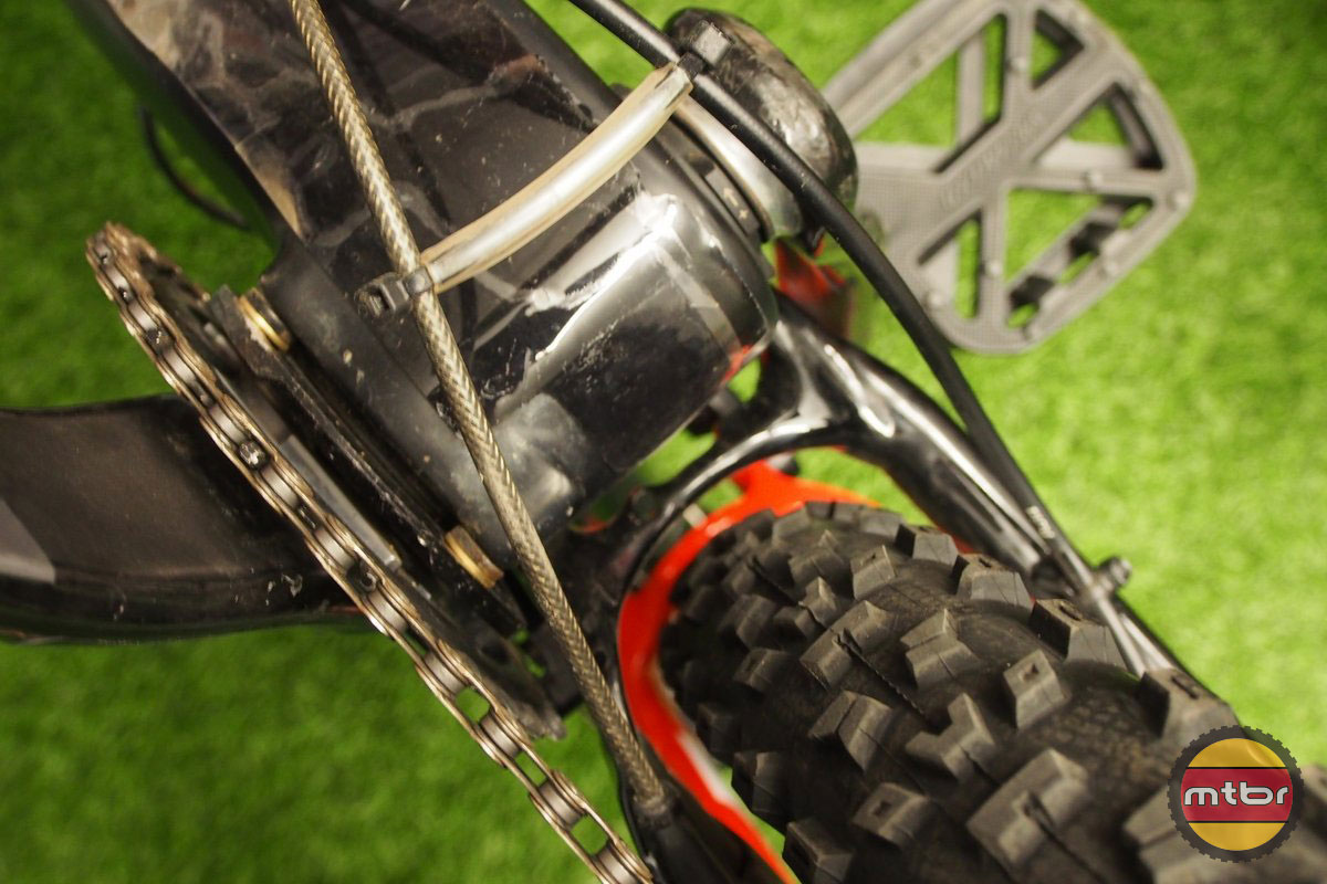Specialized S-Works Enduro 29er Tire Clearance