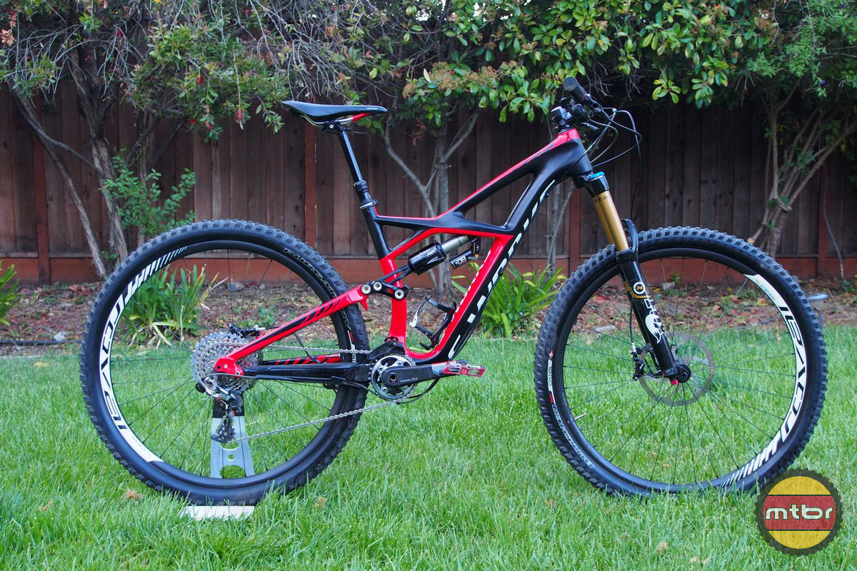 Specialized S-Works Enduro 29er Side Profile