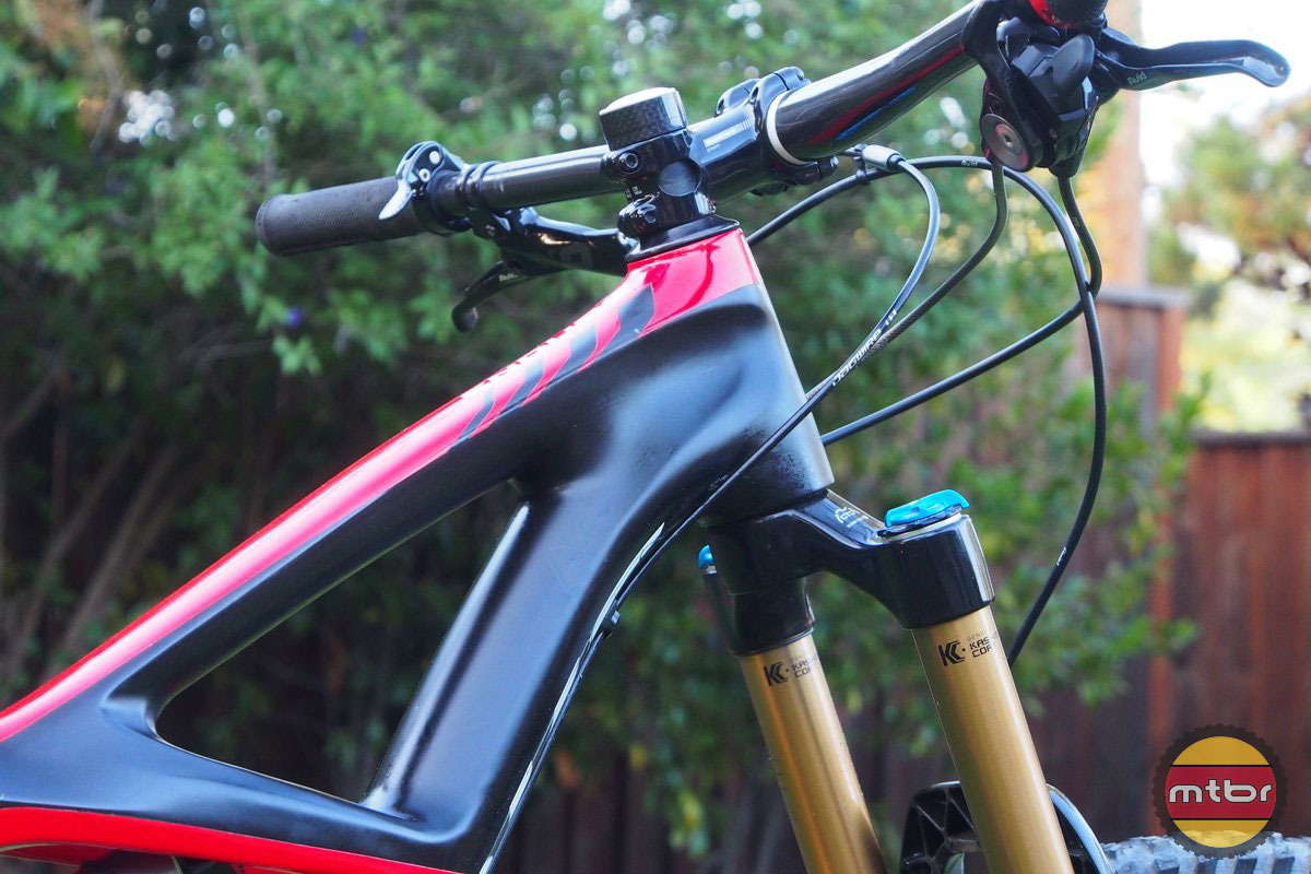 Specialized S-Works Enduro 29er Head Tube