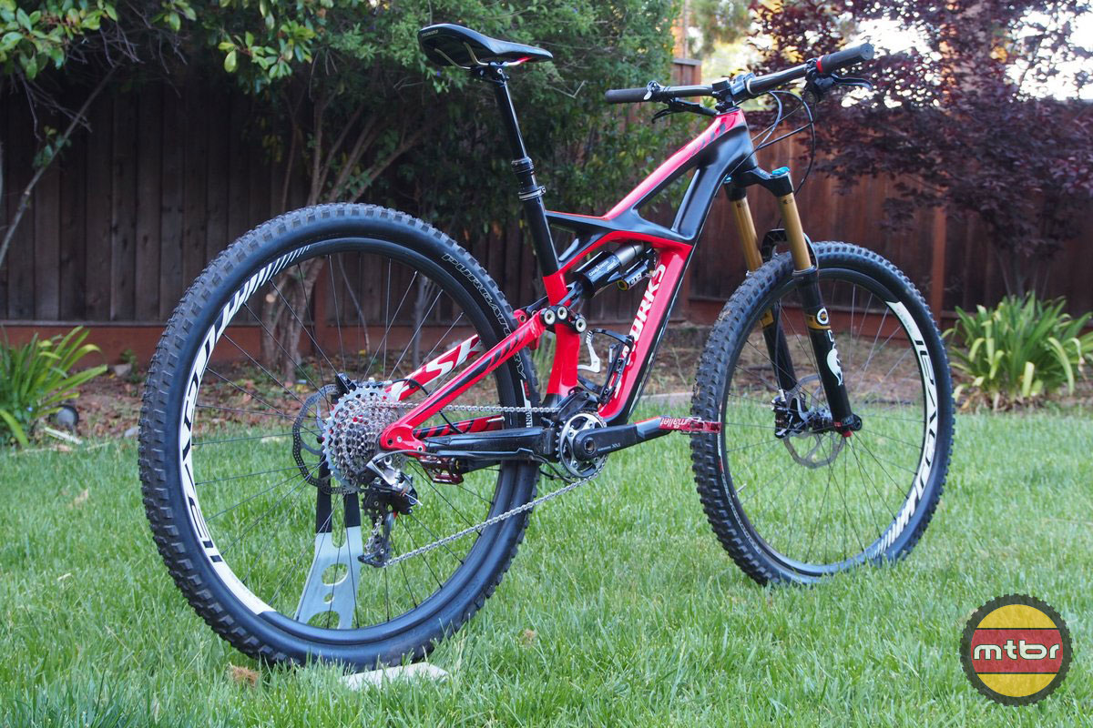 Specialized S-Works Enduro 29er Rear Side View
