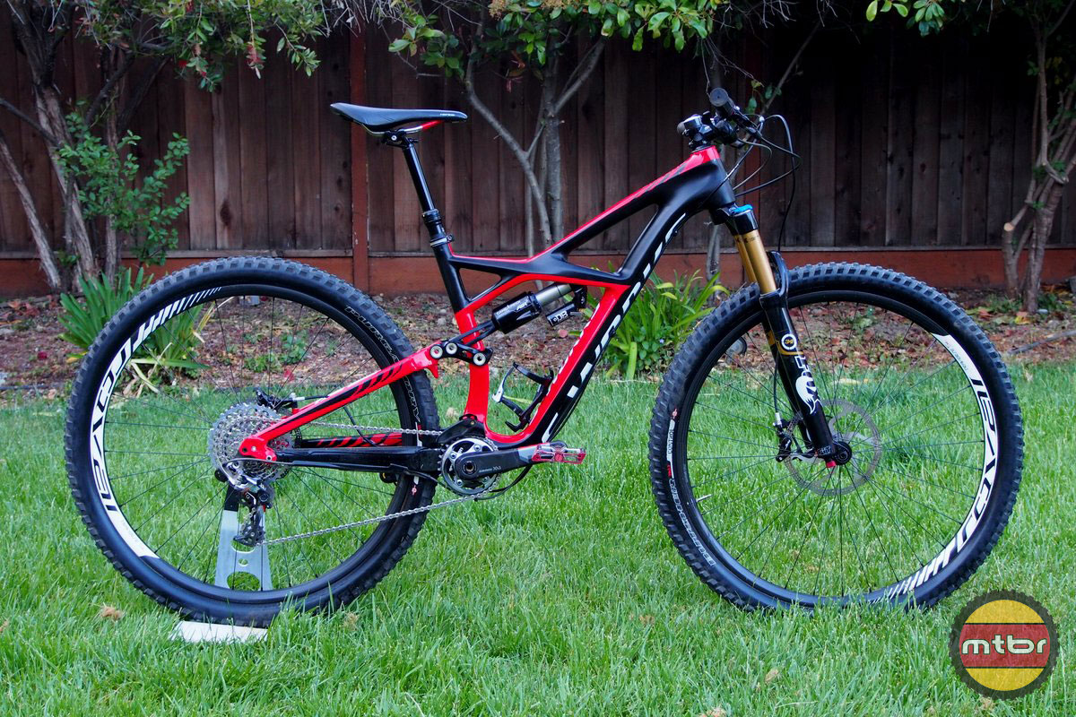 Specialized S-Works Enduro 29er Side with Post Up