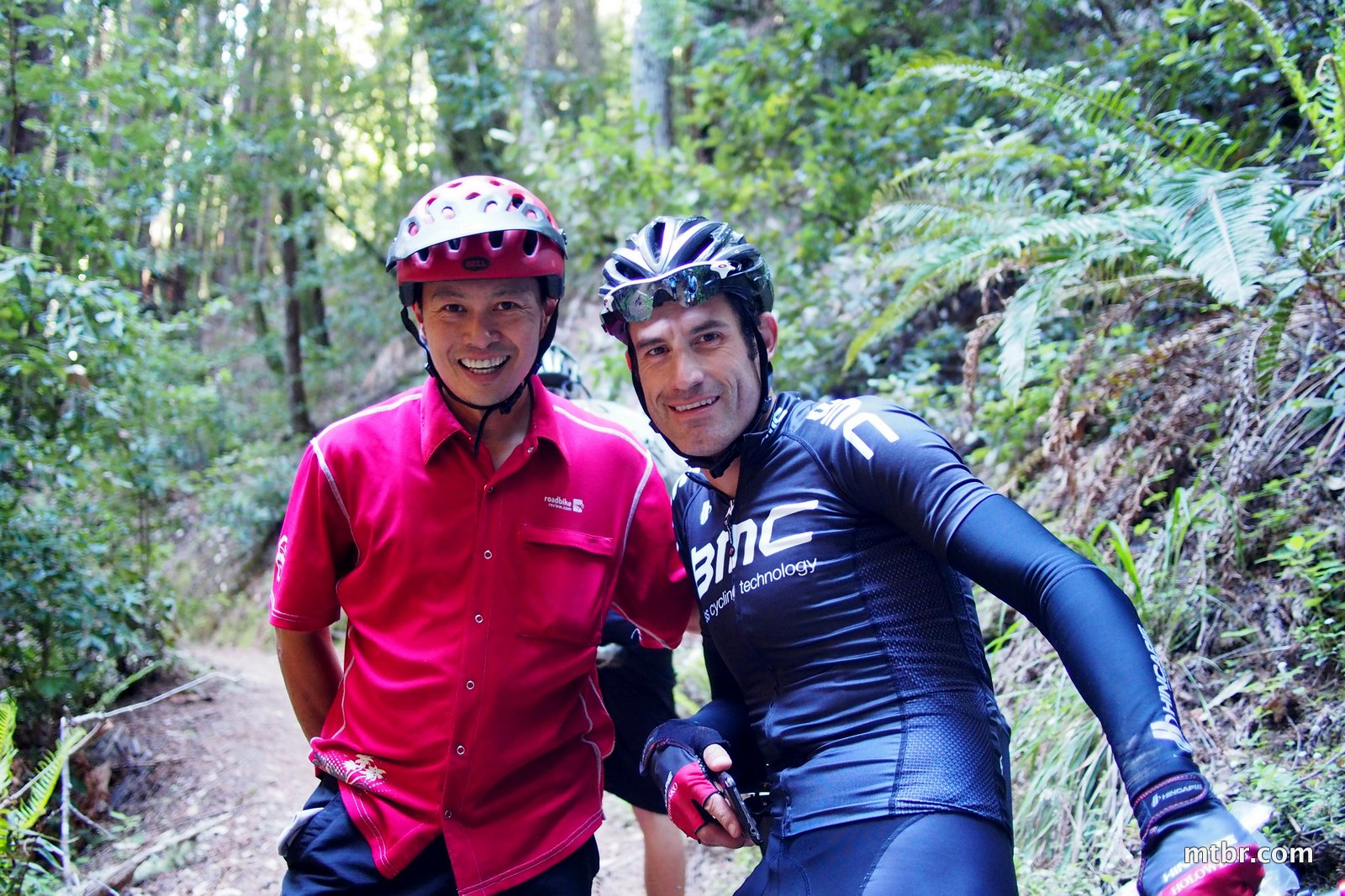 Francis and George Hincapie