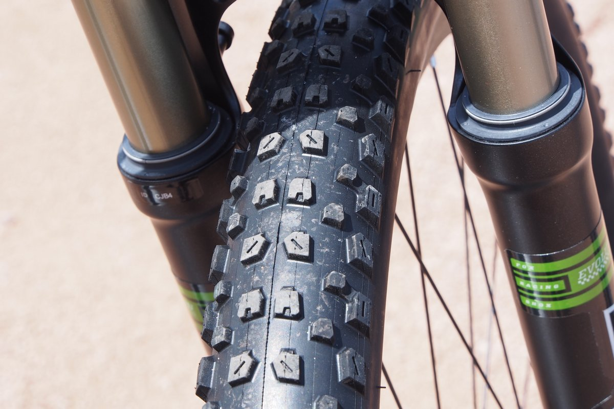Trek Fuel EX with Bontrager XR3 Tire