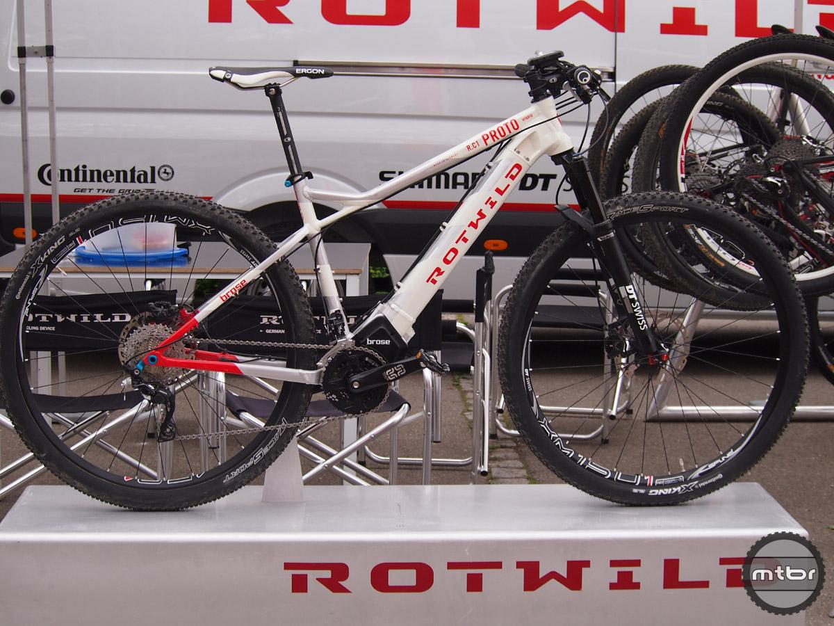 Rotwild R.C1 Prototype Hybrid