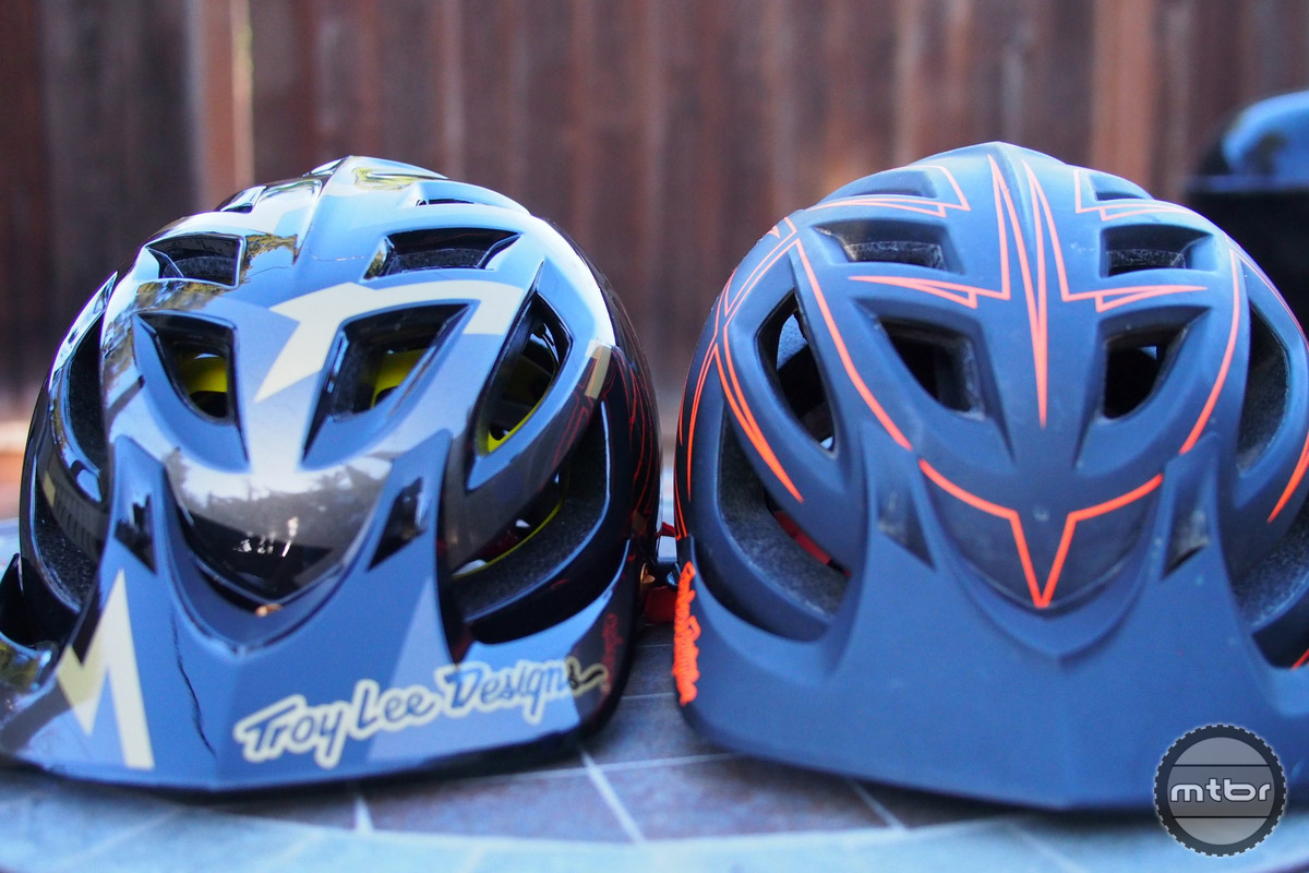 Troy Lee A1 MIPS new and old have the same outer shell.