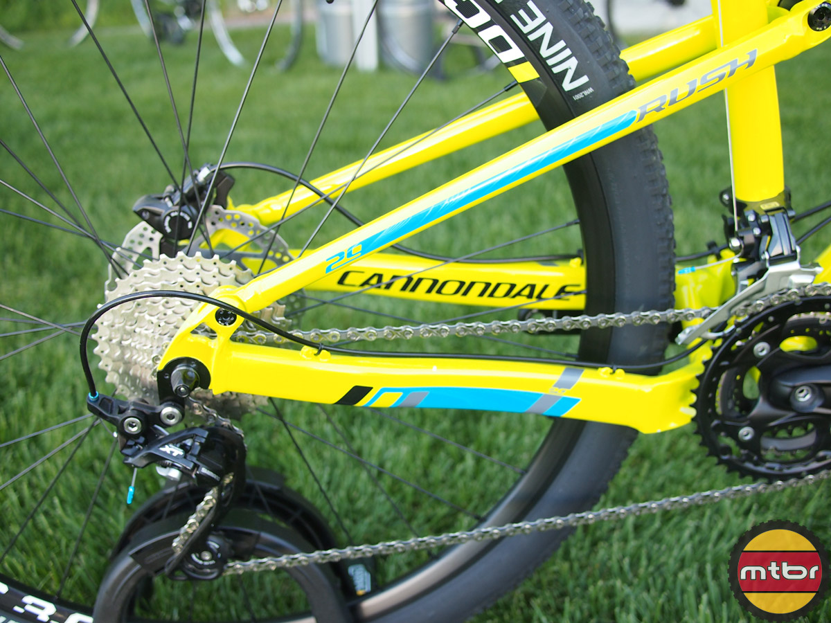 Cannondale Rush 29  - chainstays
