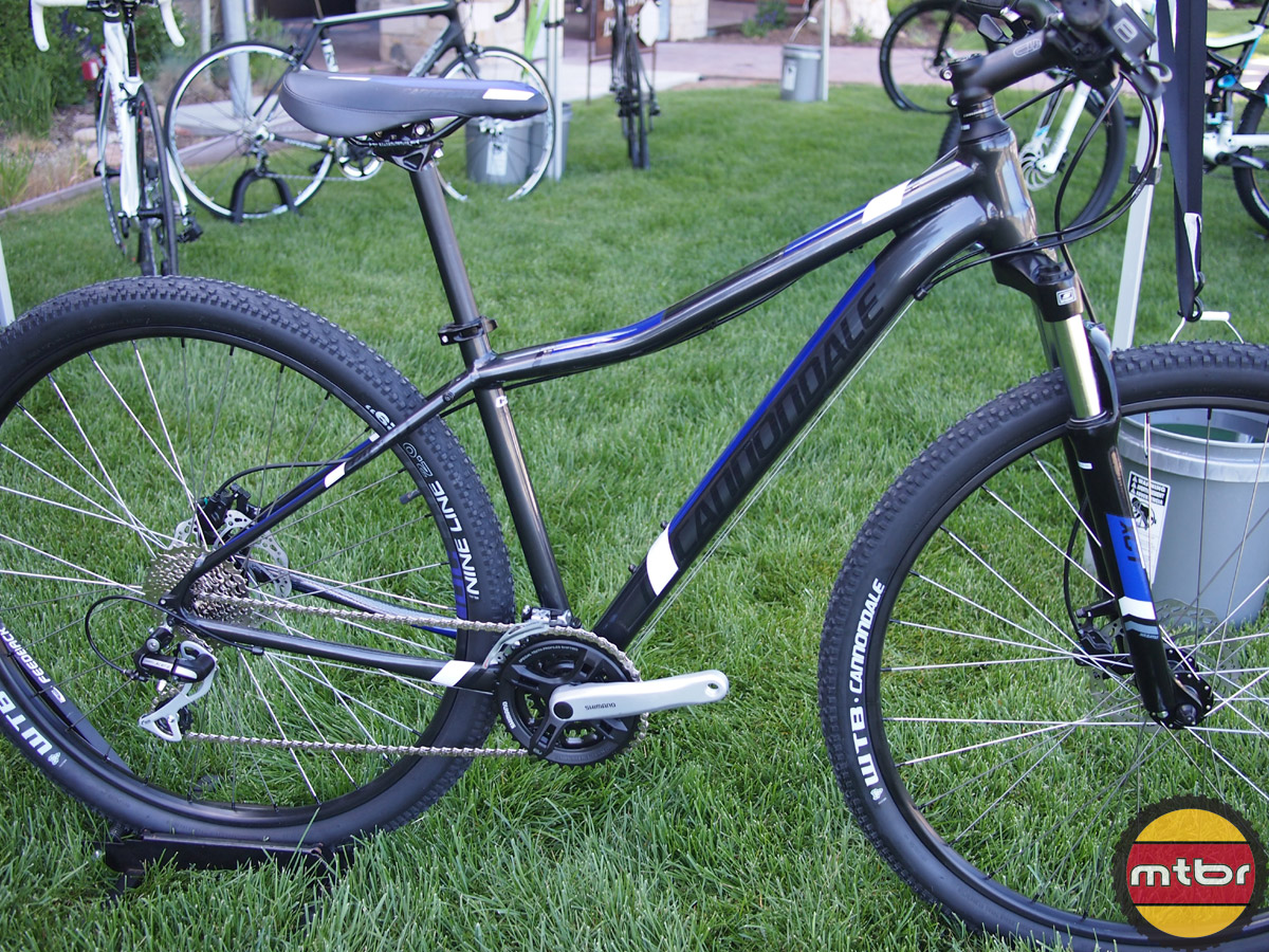 45d30a22dc0 2014 Cannondale Trail 29er 7 and Tango Women's 29er Mountain Bikes ...