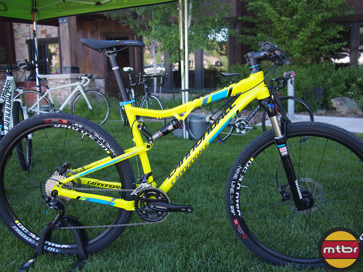 New Cannondale Rush And Scalpel 29 Carbon Black Inc