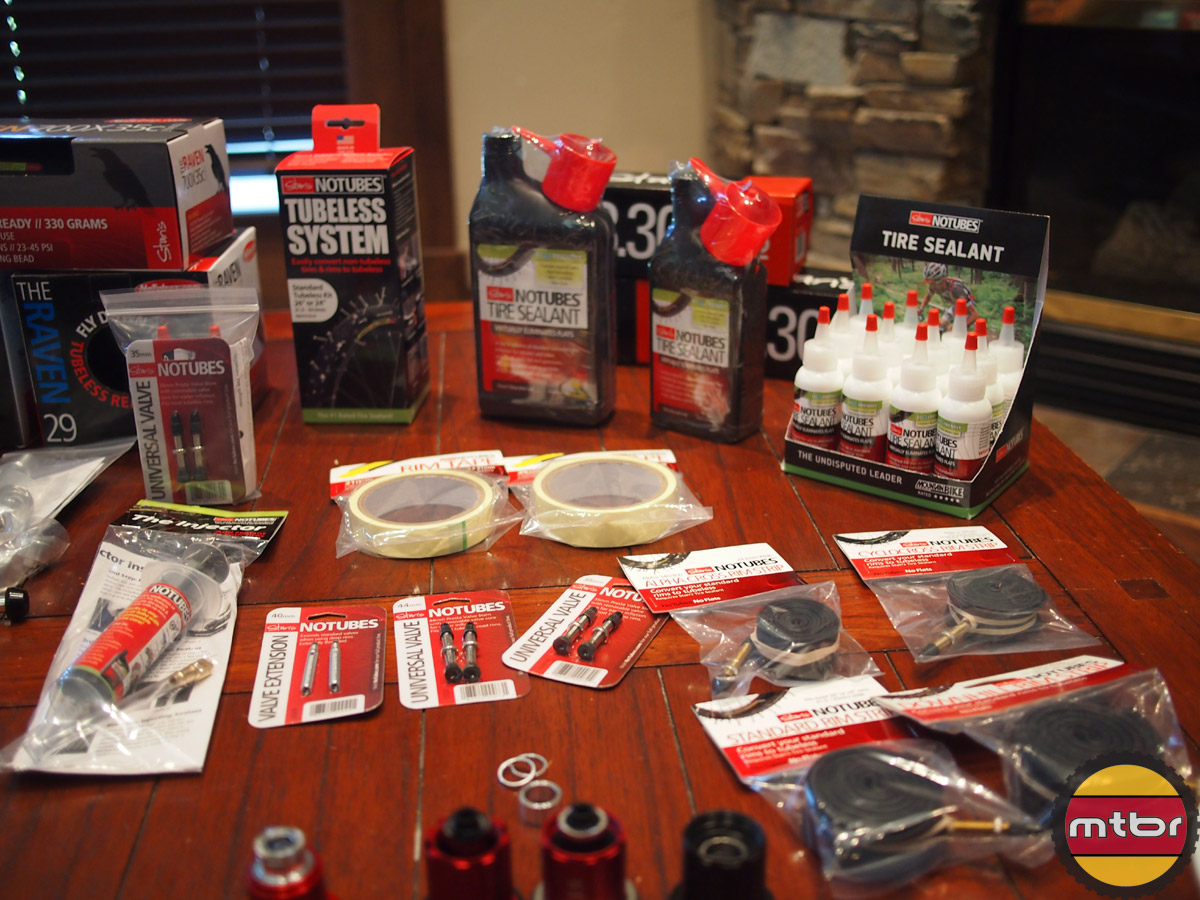 Stan's NoTubes - a selection of parts and accessories