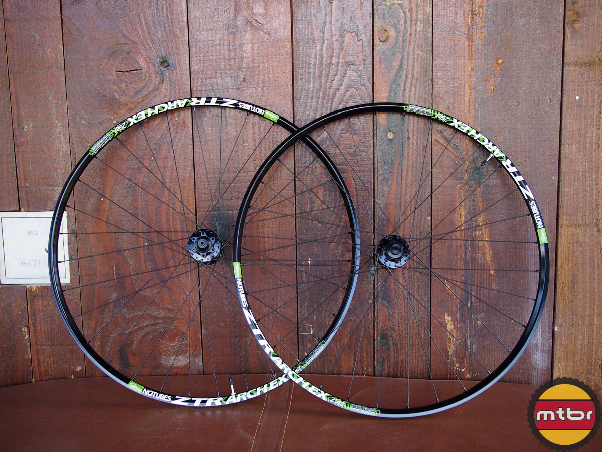Stan's NoTubes ZTR Crest 650b and ZTR Arch EX 29er Wheels - Mountain Bike Review- Mtbr.com
