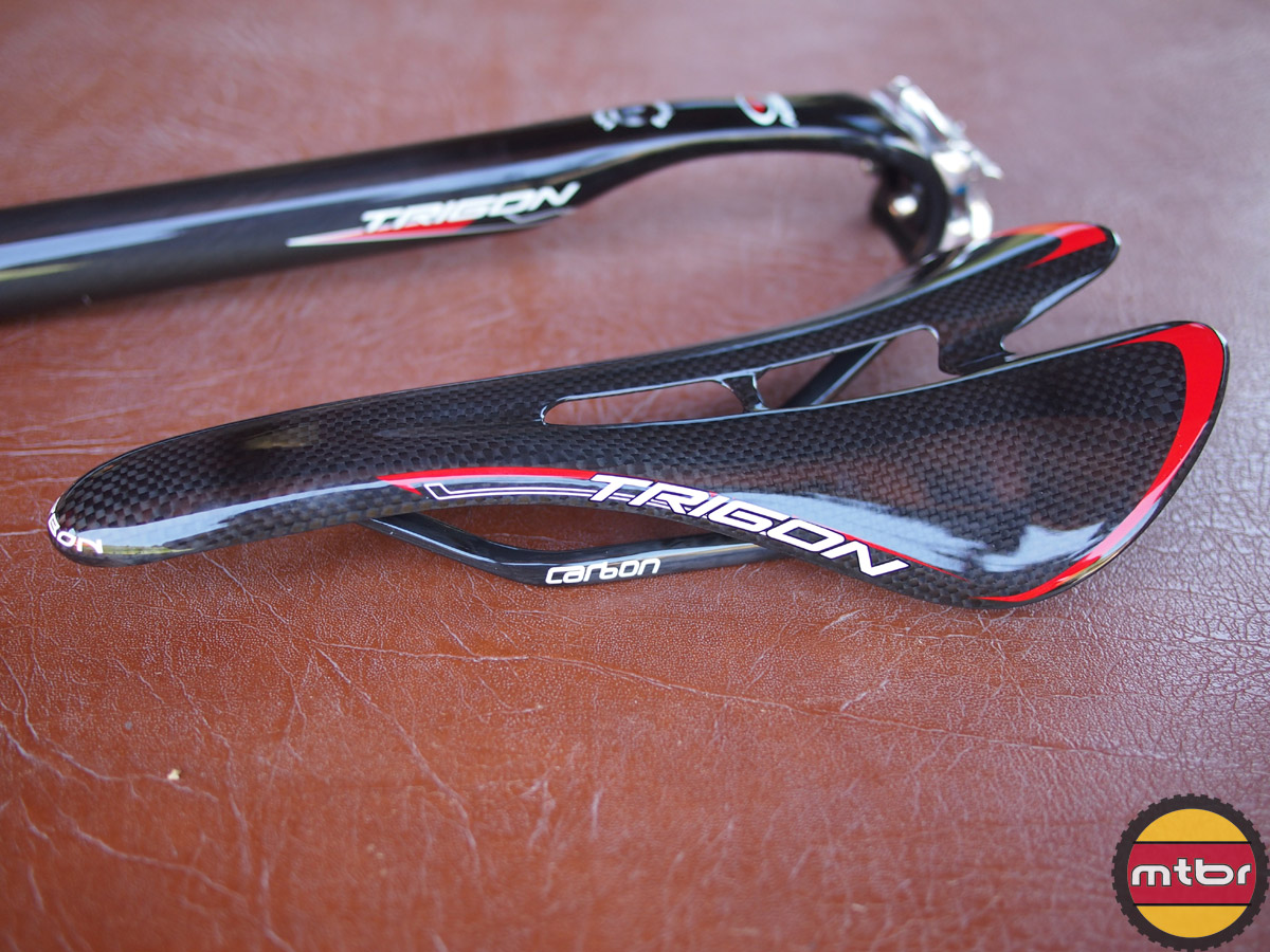 Trigon full carbon face saddle
