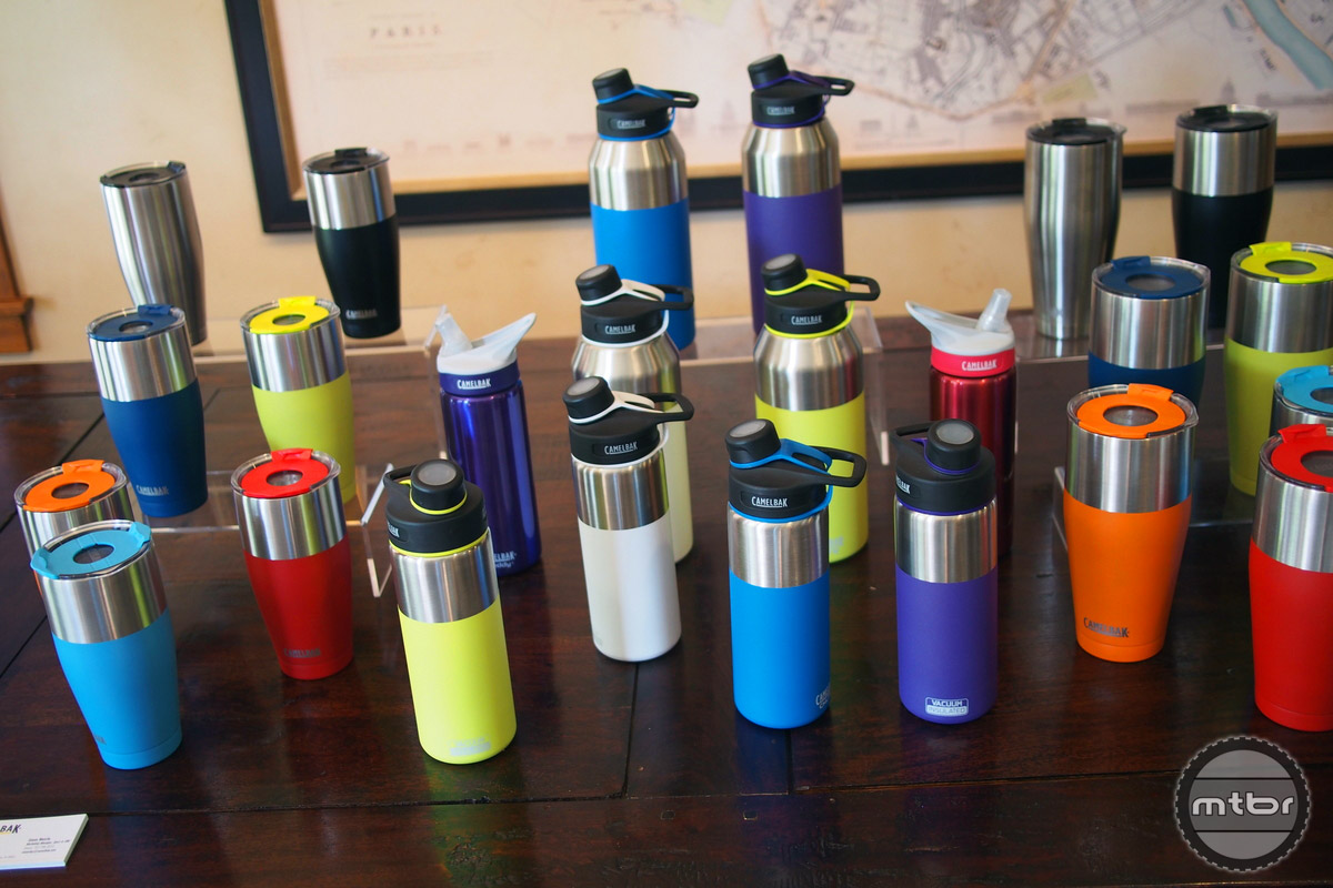 Vacuum insulated bottles are available in many options.