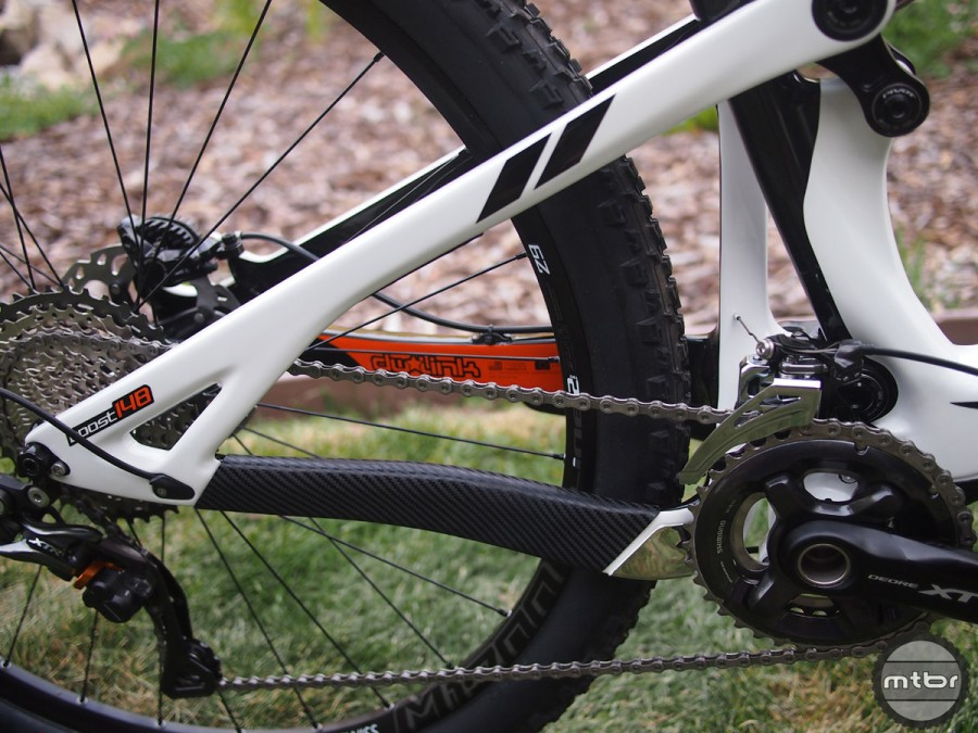 Chainstay length has a significant effect on the way a bike rides.