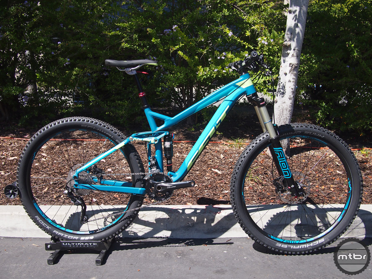 No big changes for Felt's enduro racer, but spec value has been improved.