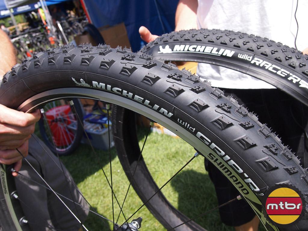 "Folding   Wild Racer New Michelin Wild Race/'r 26/"" x 2.00/"" Mountain Bike Tire"
