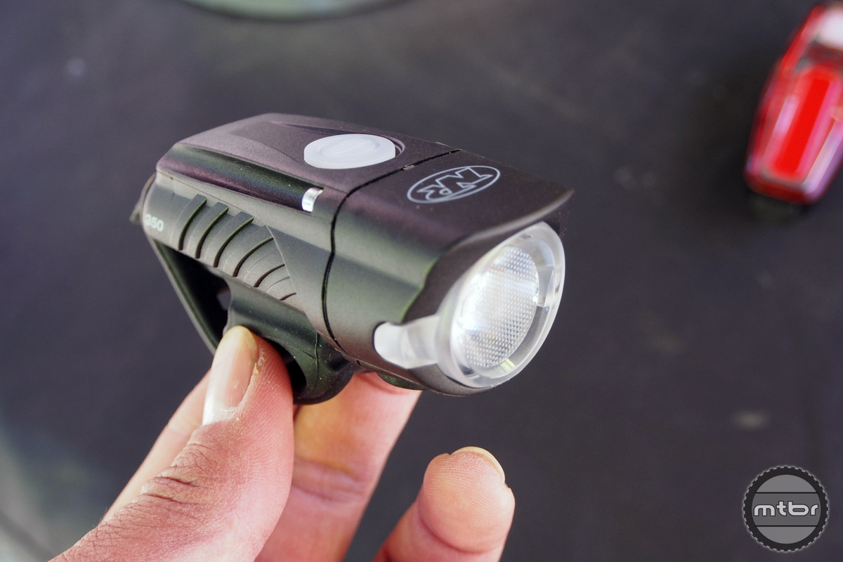 The NiteRider Swift 350 packs a decent punch with a light output of 350 Lumens and is USB rechargeable!