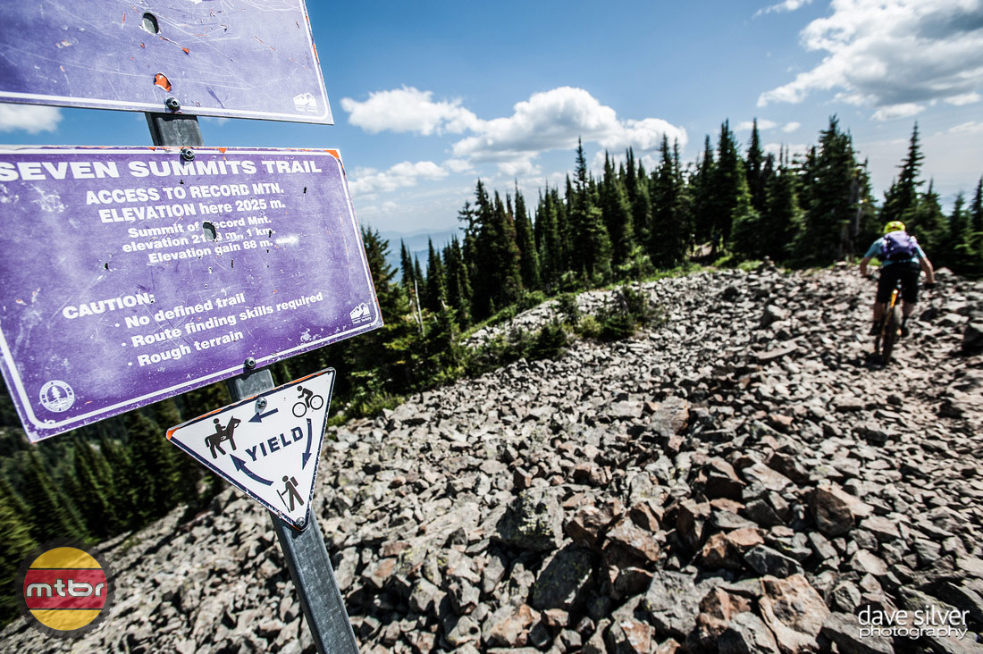 Rossland Seven Summits Trail