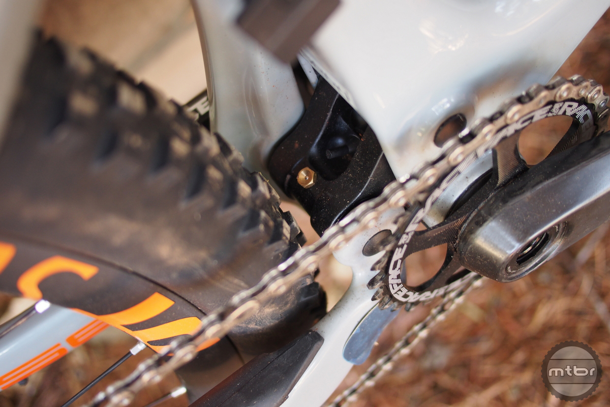 Intense Primer 29er bb clearance is tighter than the seatstay clearance.