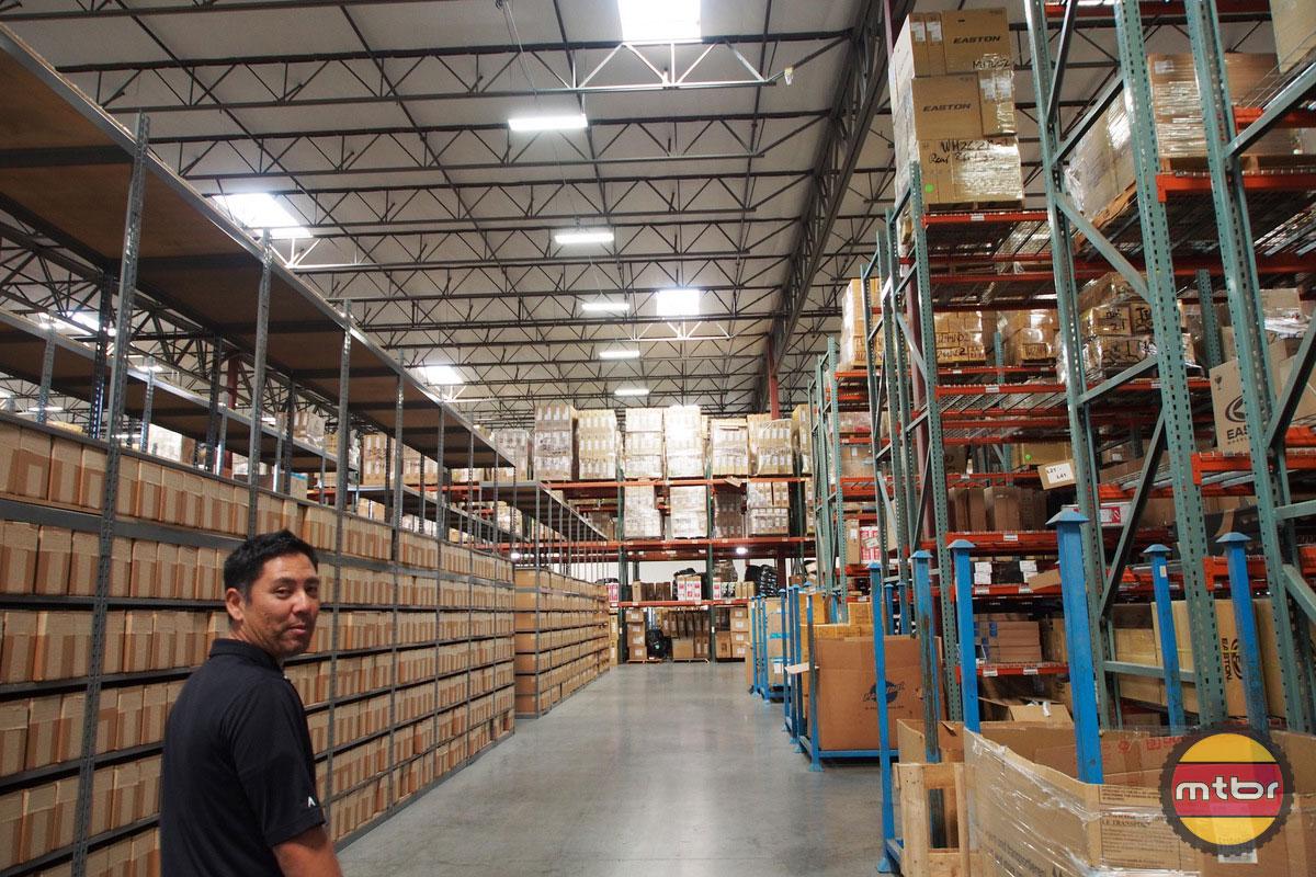 Jenson USA Warehouse