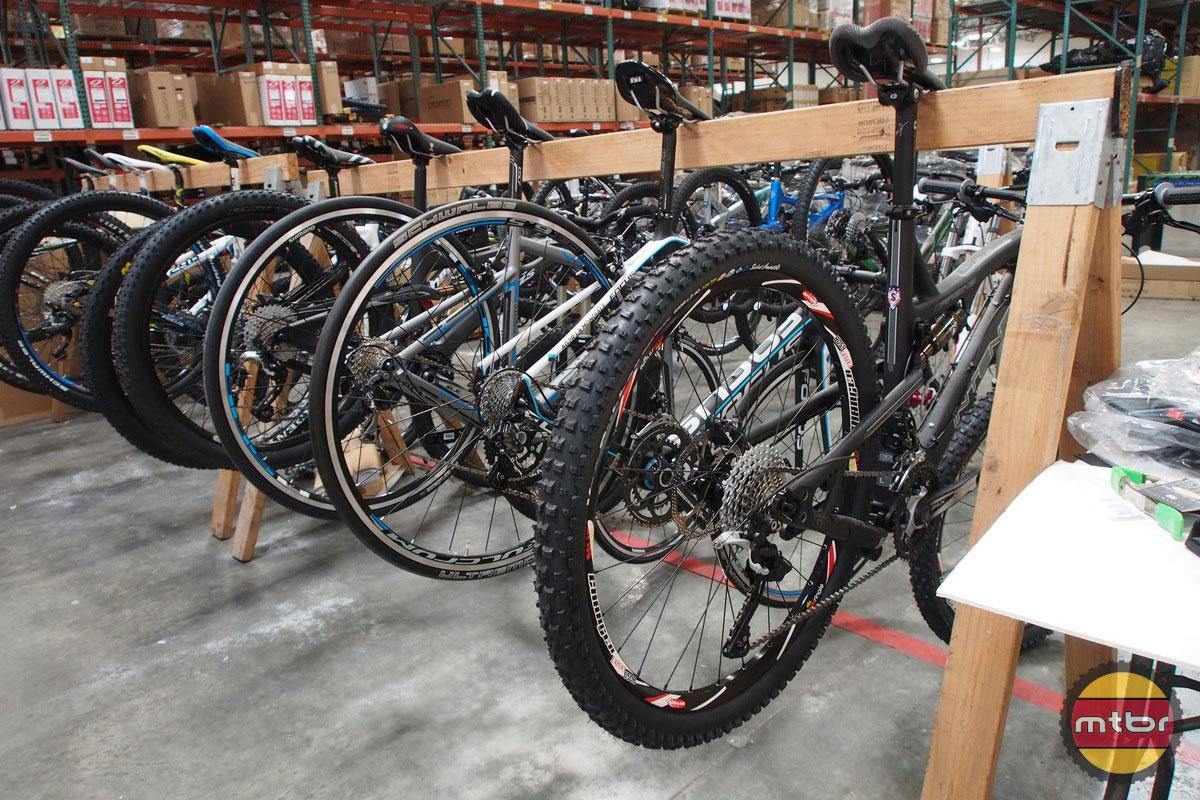 Jenson USA Test Bikes