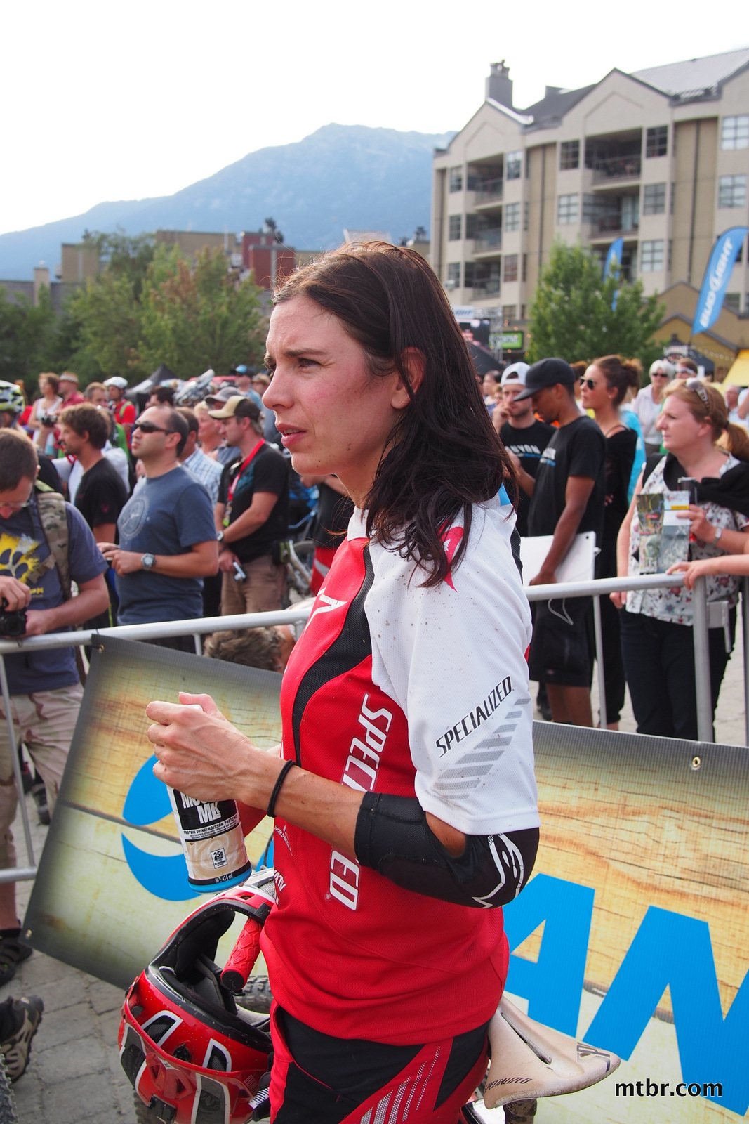 Anneke Beerten in Enduro World Series Whistler