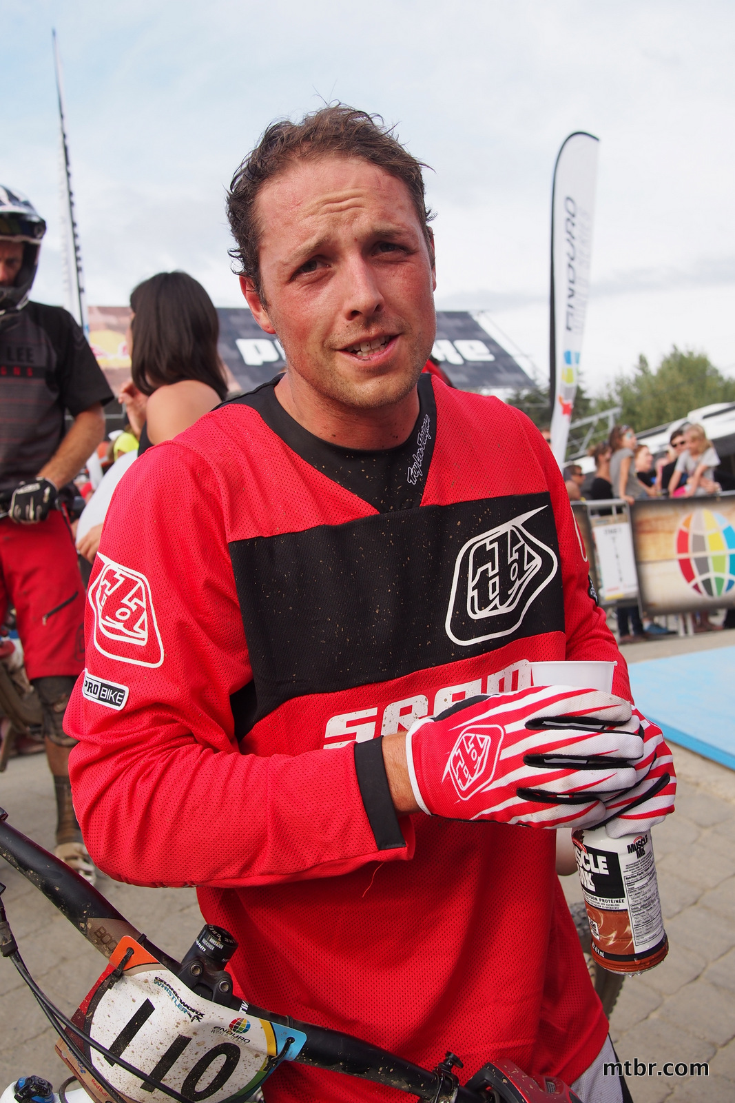 Tyler Moreland in Enduro World Series Whistler