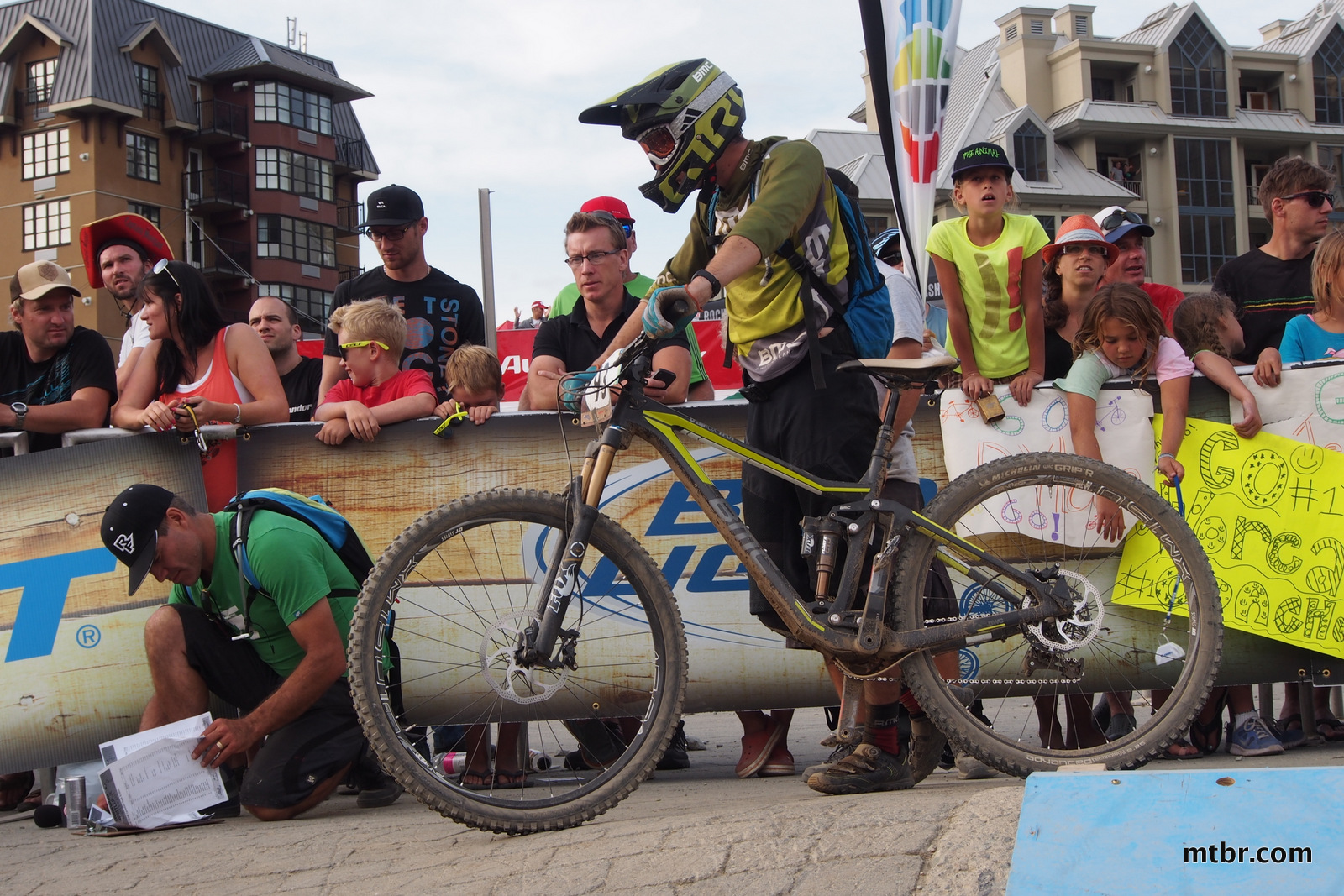 New BMC Trailfox 29er  in Enduro World Series Whistler