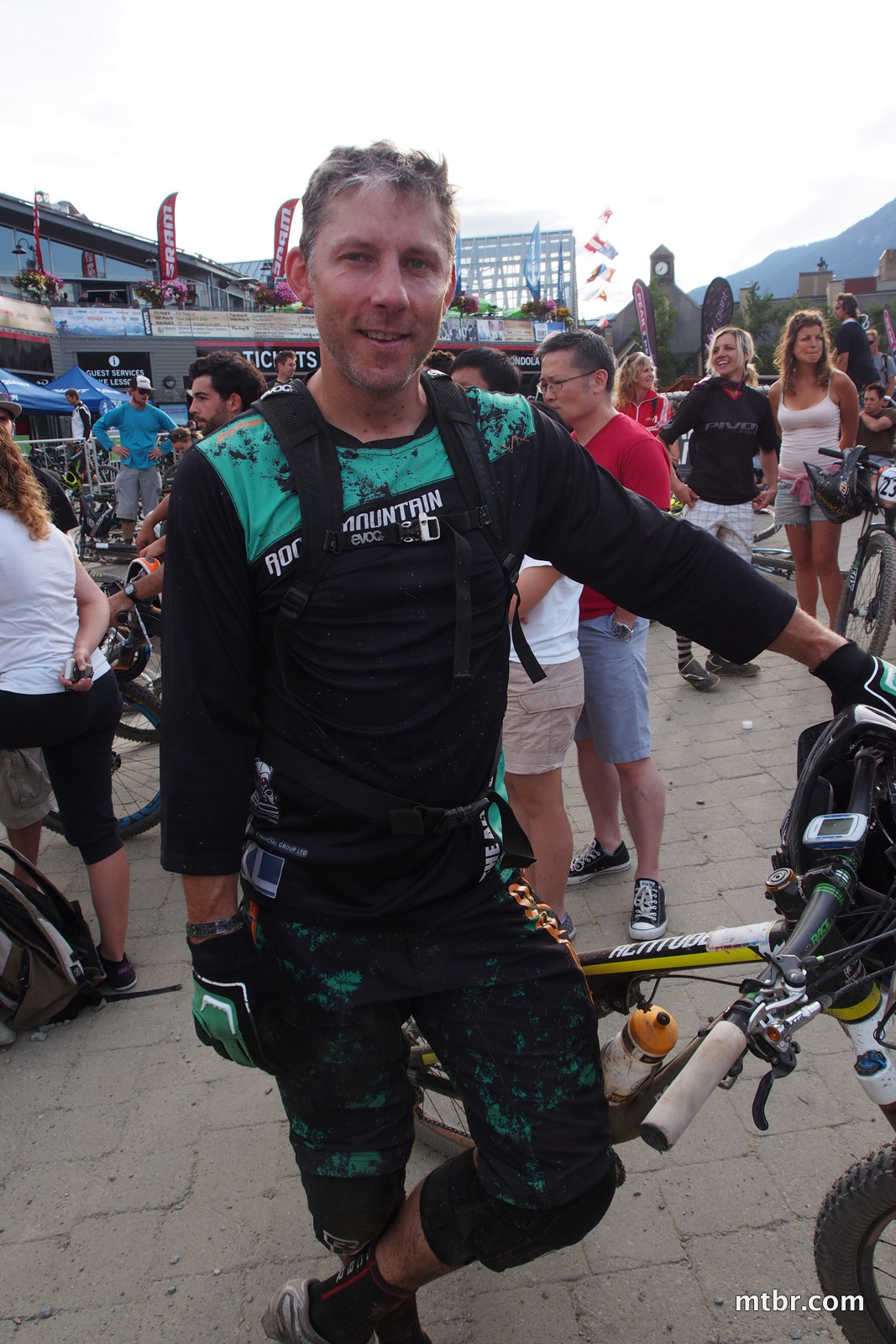 Andreas Hestler in Enduro World Series Whistler