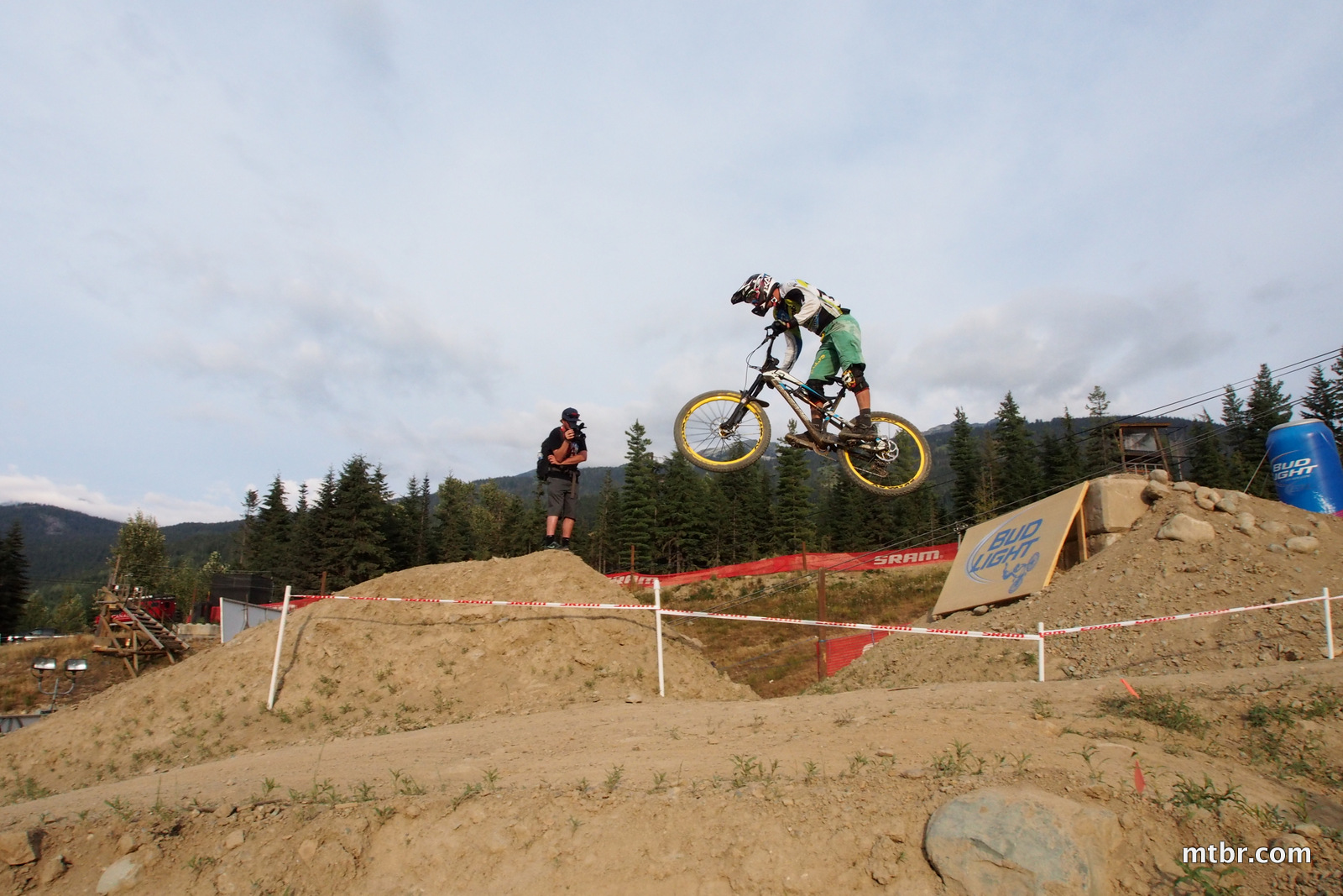 Big Jump in Enduro World Series Whistler