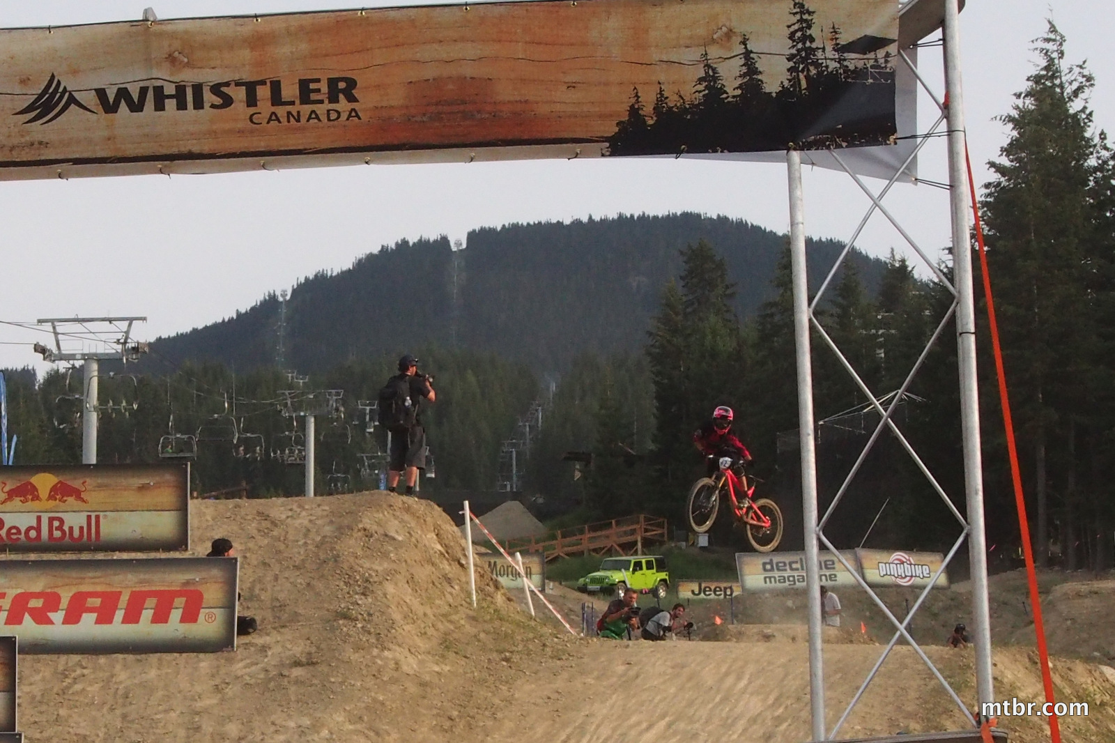 in Enduro World Series Whistler