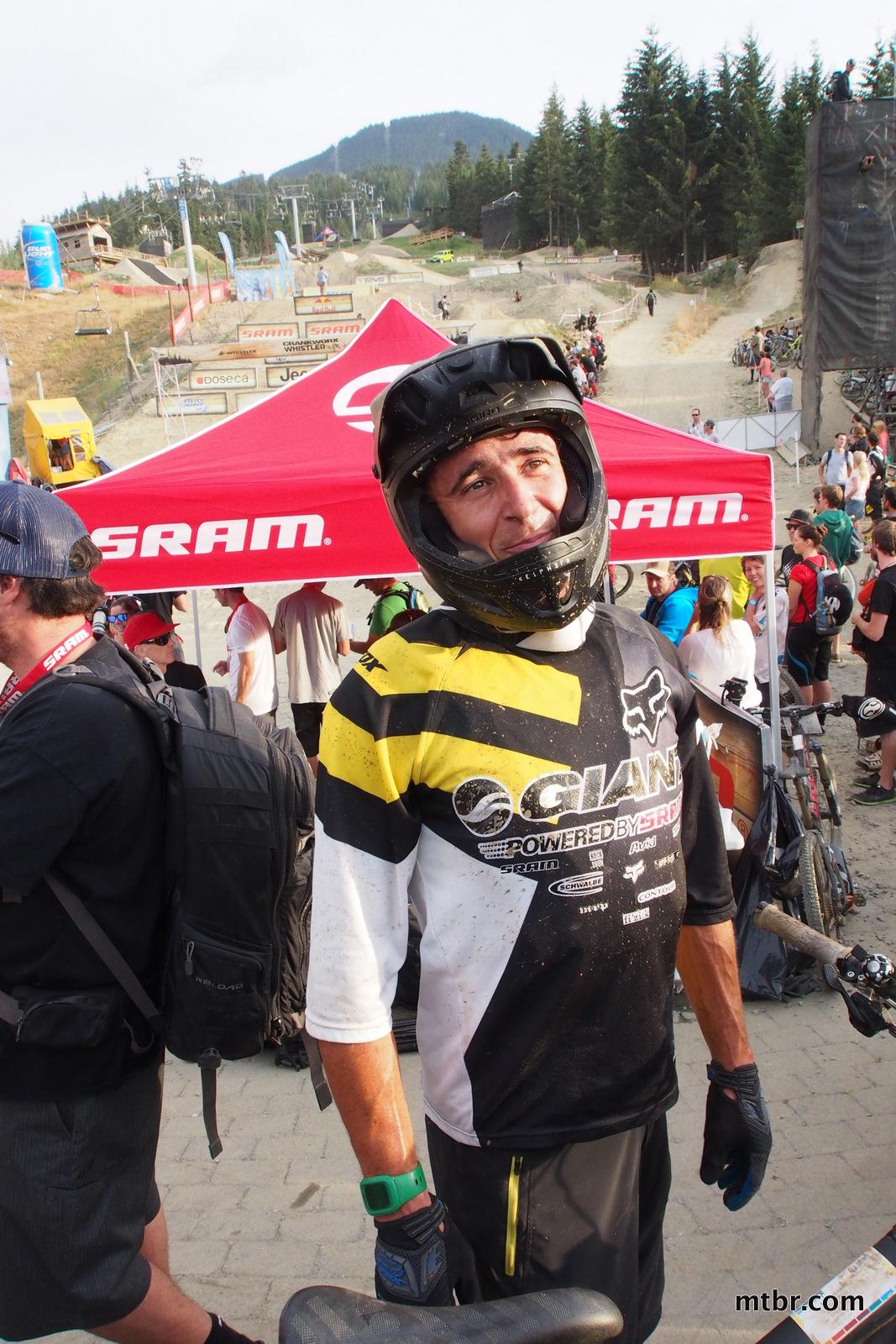 Adam Craig in Enduro World Series Whistler