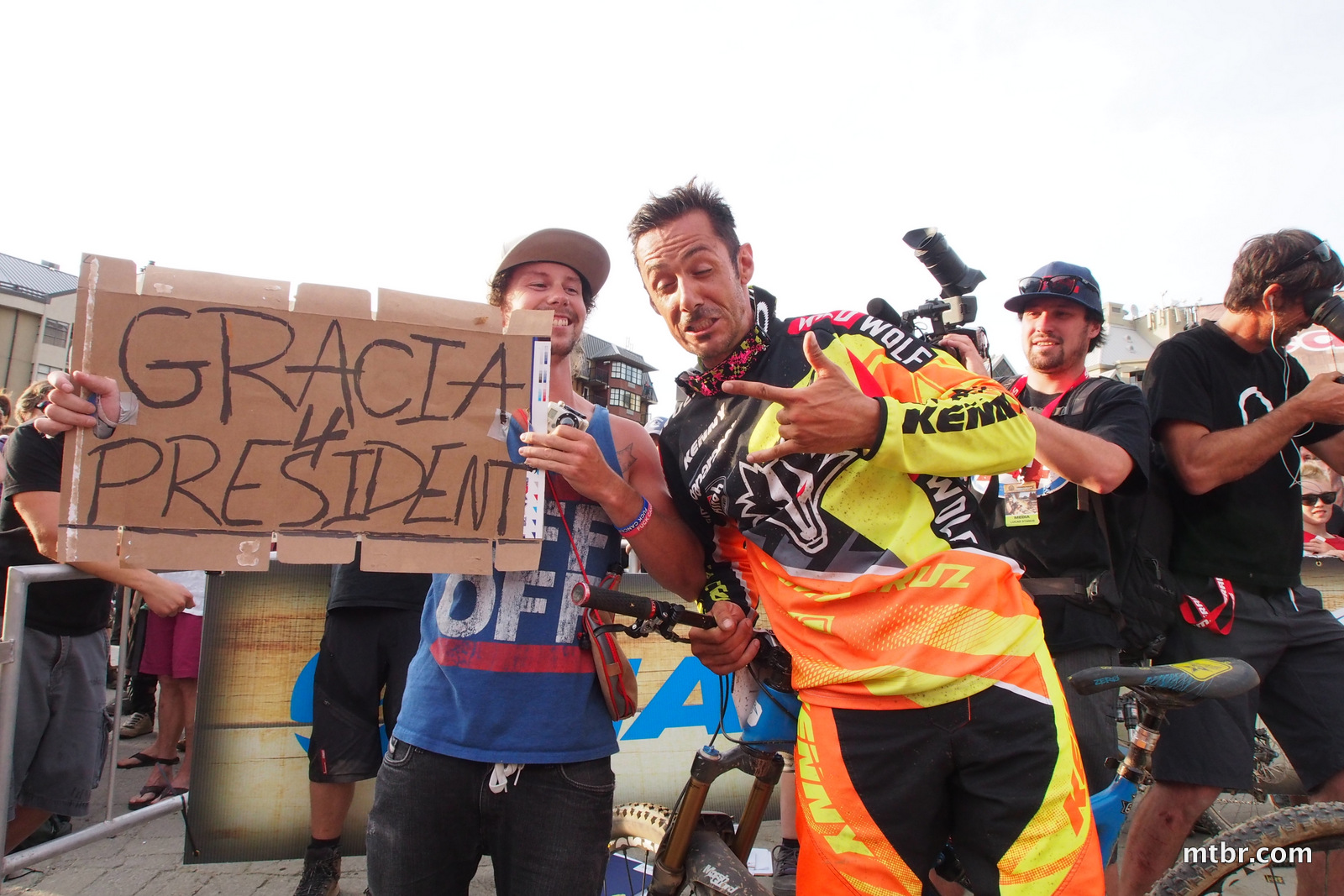 Cedric in Enduro World Series Whistler
