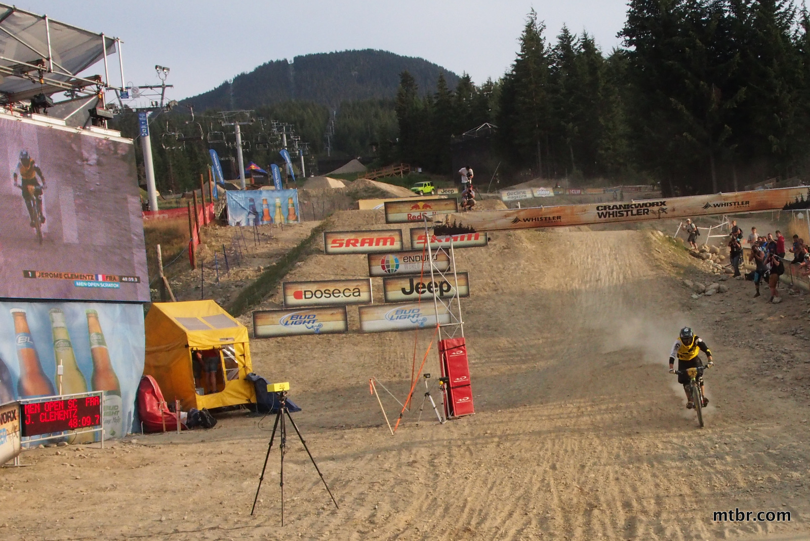 Clementz Arrives in Enduro World Series Whistler